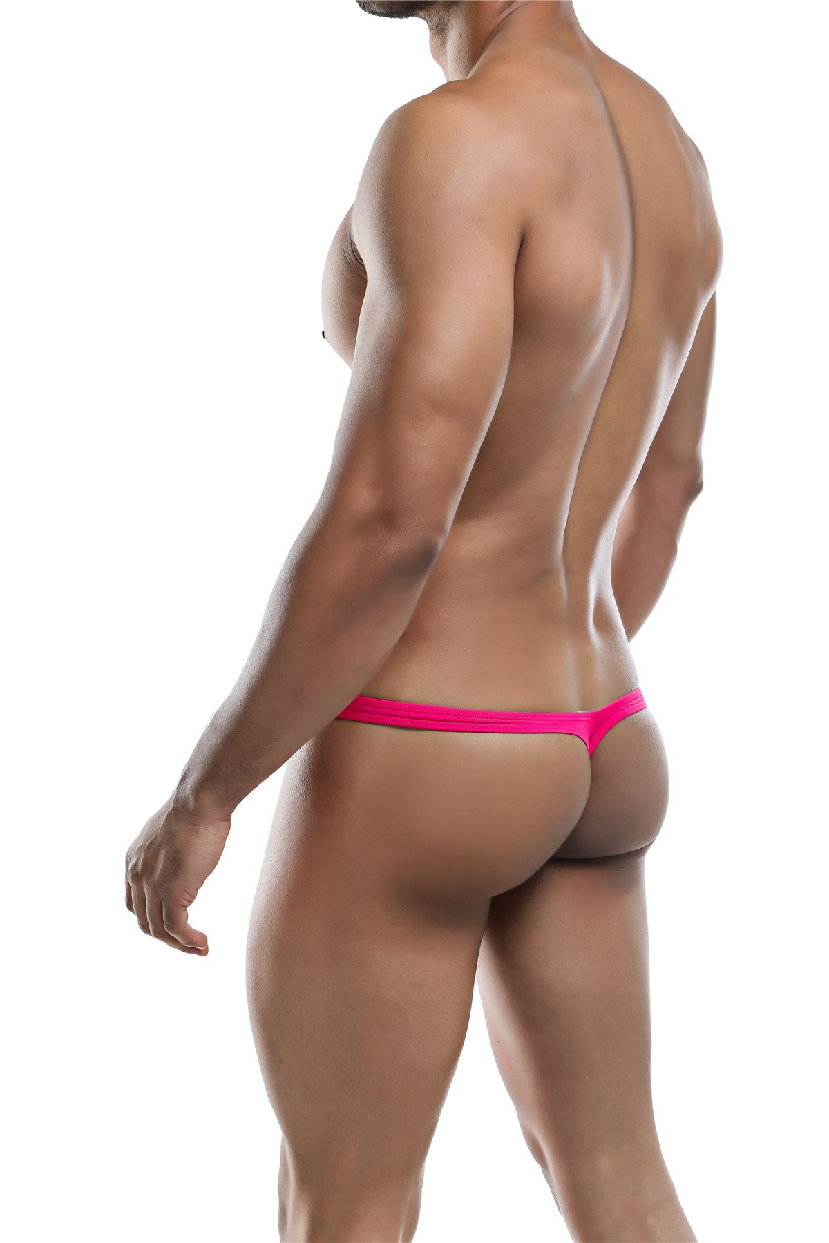 Joe-Snyder-Polyester-Collection-Thong-Bulge-02-Mens-Underwear-Swimwear-String miniatura 11