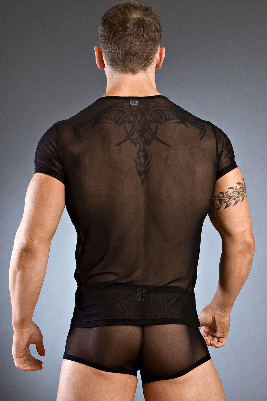 Homme Body art eros V-shirt sous-vêtement Homme Fashion Top RRP £ 36 ... 605ff342623