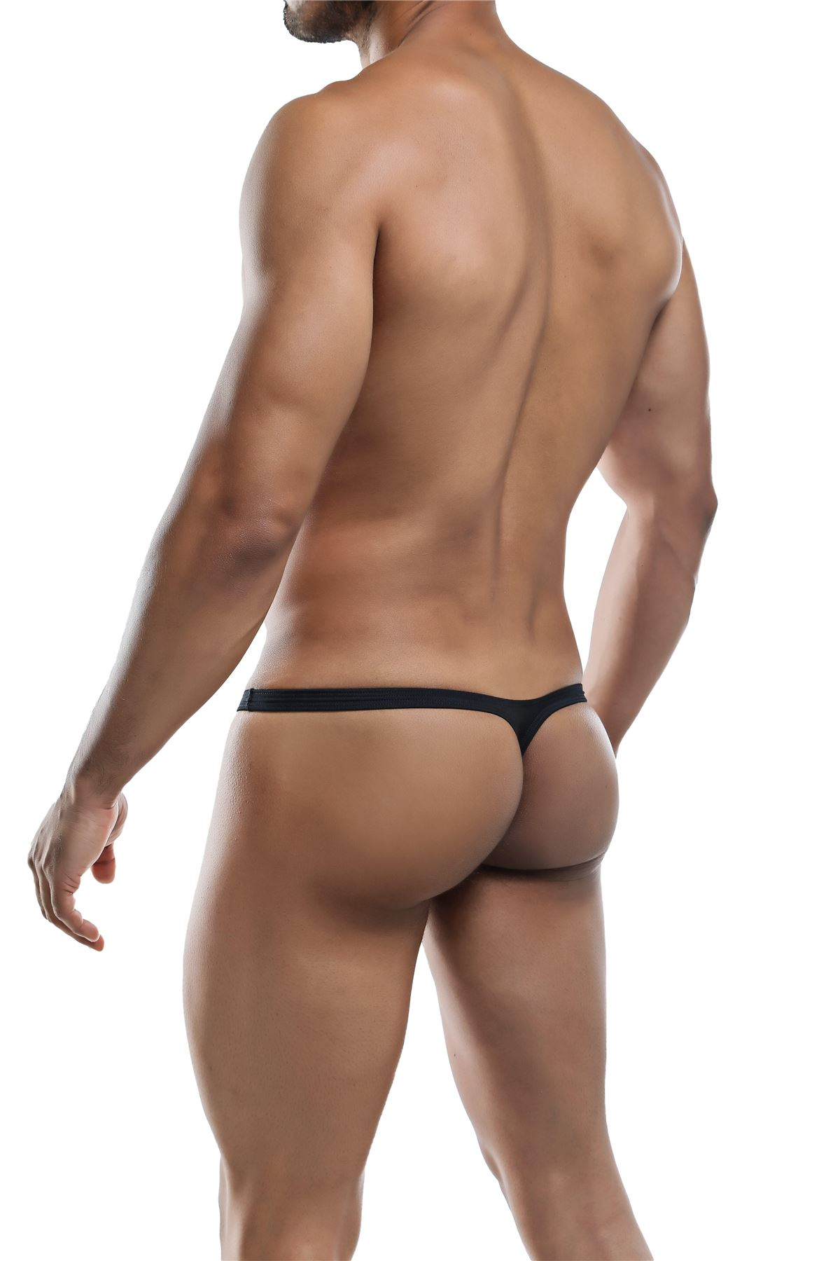 Joe-Snyder-Polyester-Collection-Thong-Bulge-02-Mens-Underwear-Swimwear-String miniatura 3