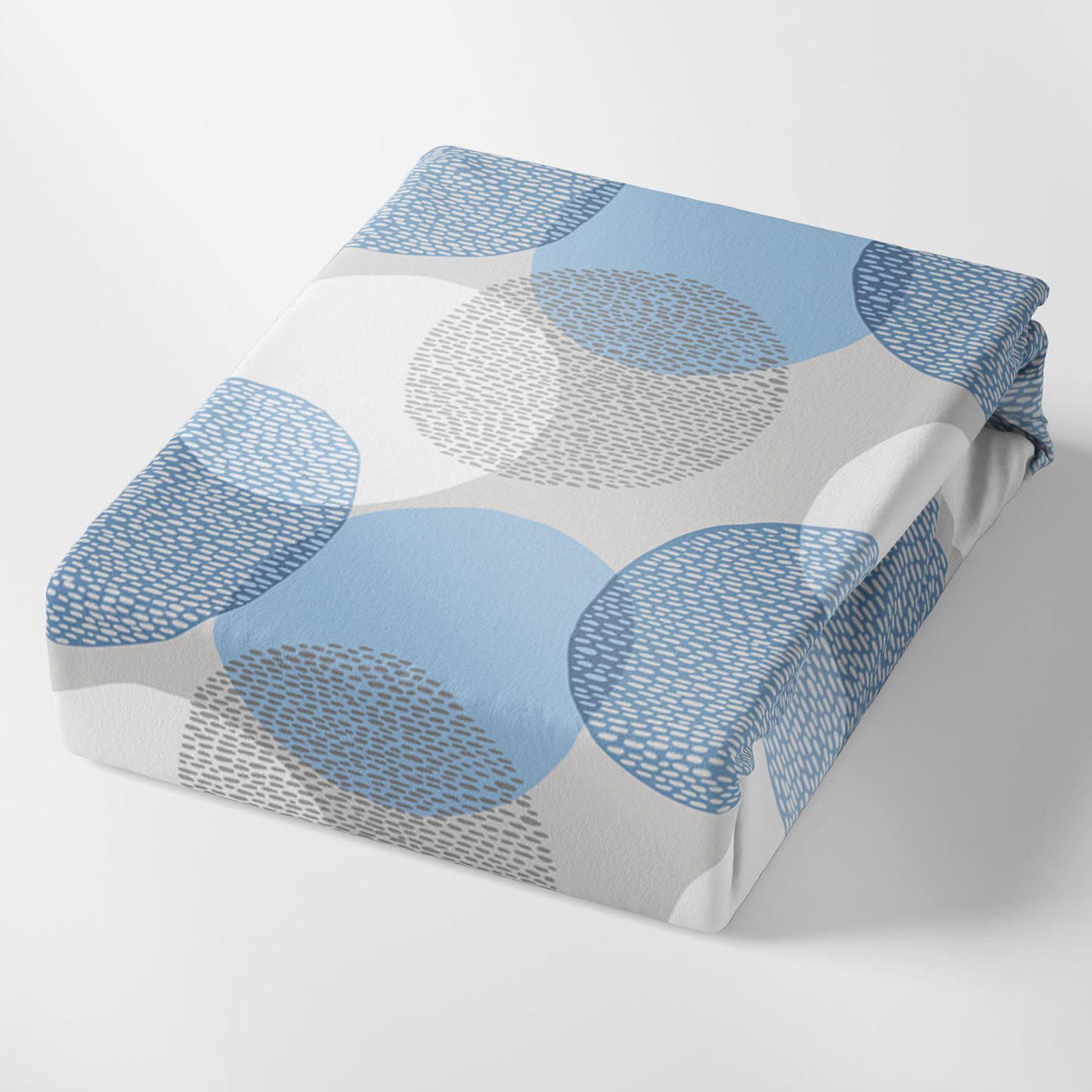 Funda-nordica-azul-azul-marino-verde-azulado-edredon-algodon-estampado-juego-conjuntos-de-cama-cubre miniatura 7