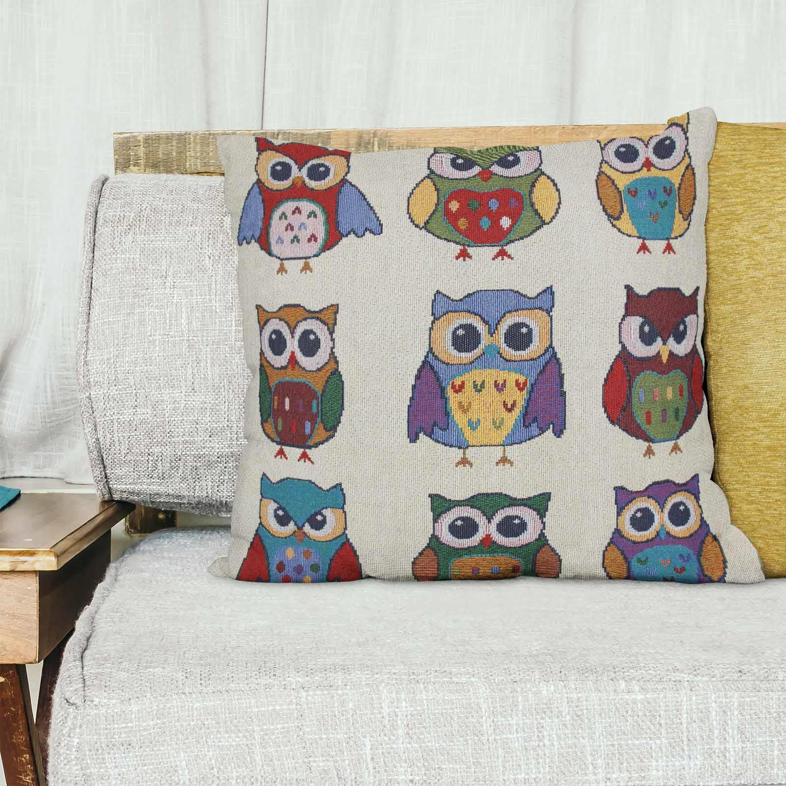 Tapestry-Cushion-Covers-Vintage-Pillow-Cover-Collection-18-034-45cm-Filled-Cushions thumbnail 162
