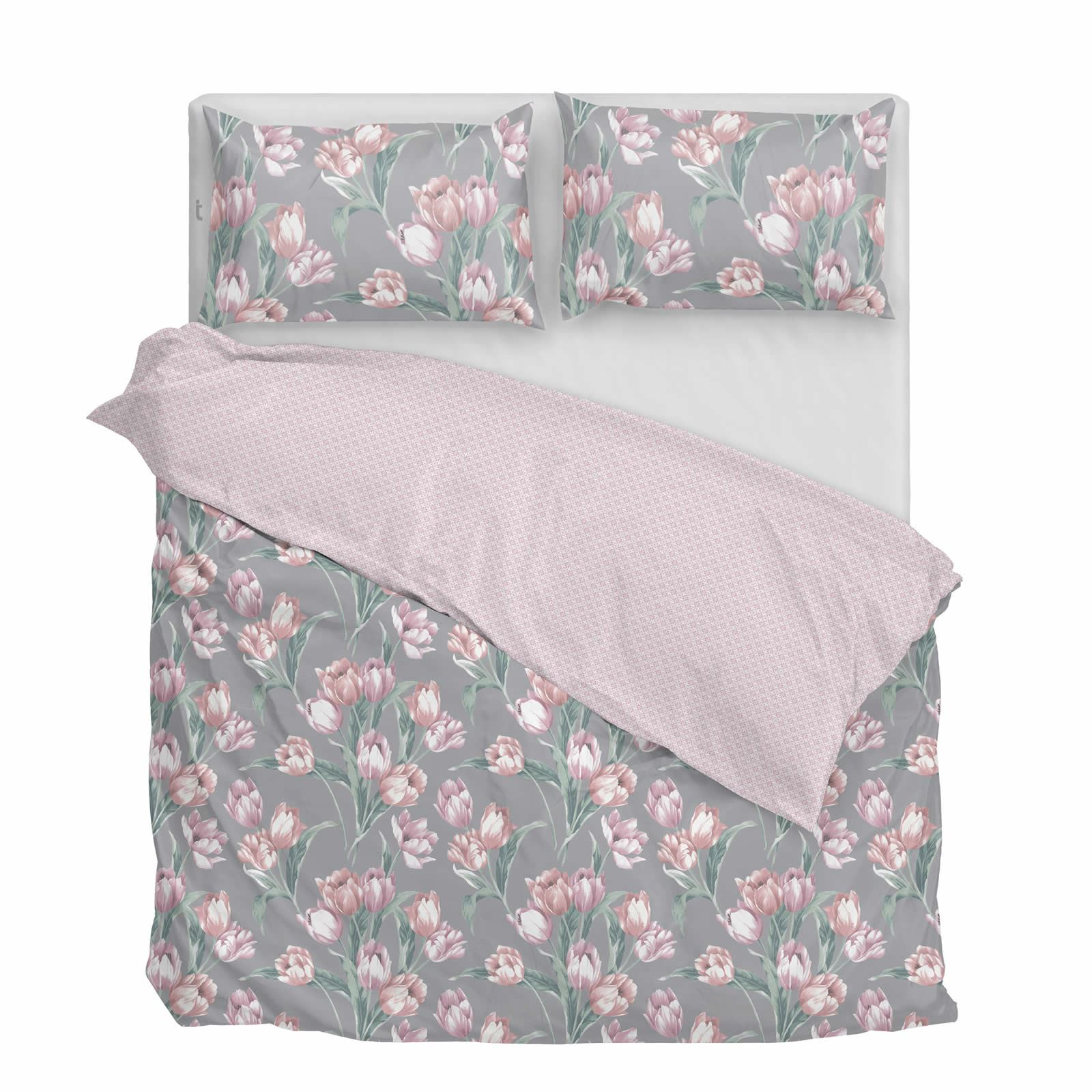 Cubierta-Edredon-Rosa-Blush-Rose-Impreso-juego-De-Edredon-Conjuntos-de-Cama-cubre-Jacquard miniatura 50