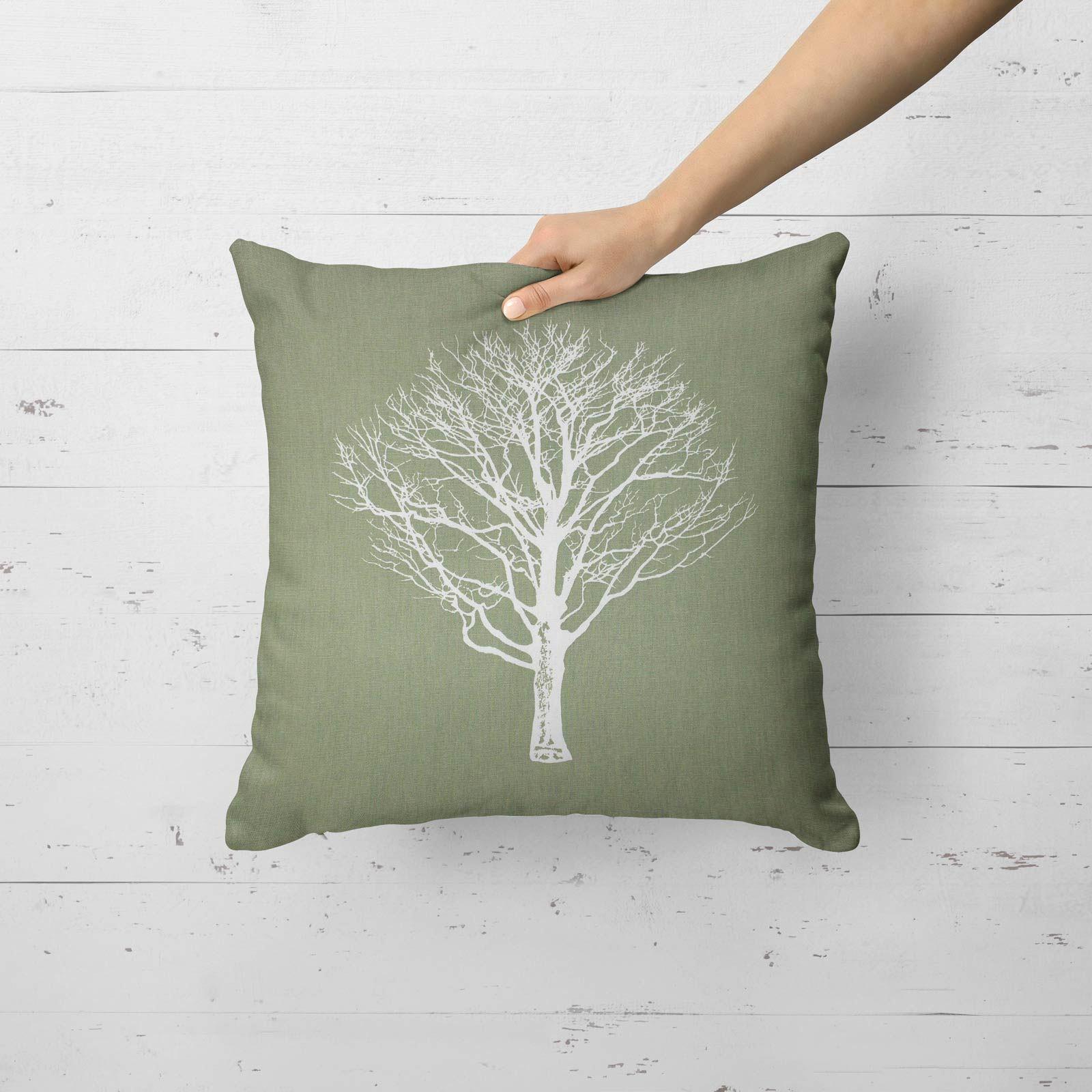 Woodland-Trees-Cushion-Cover-Modern-Reversible-Tree-Print-Covers-17-034-x-17-034 thumbnail 28