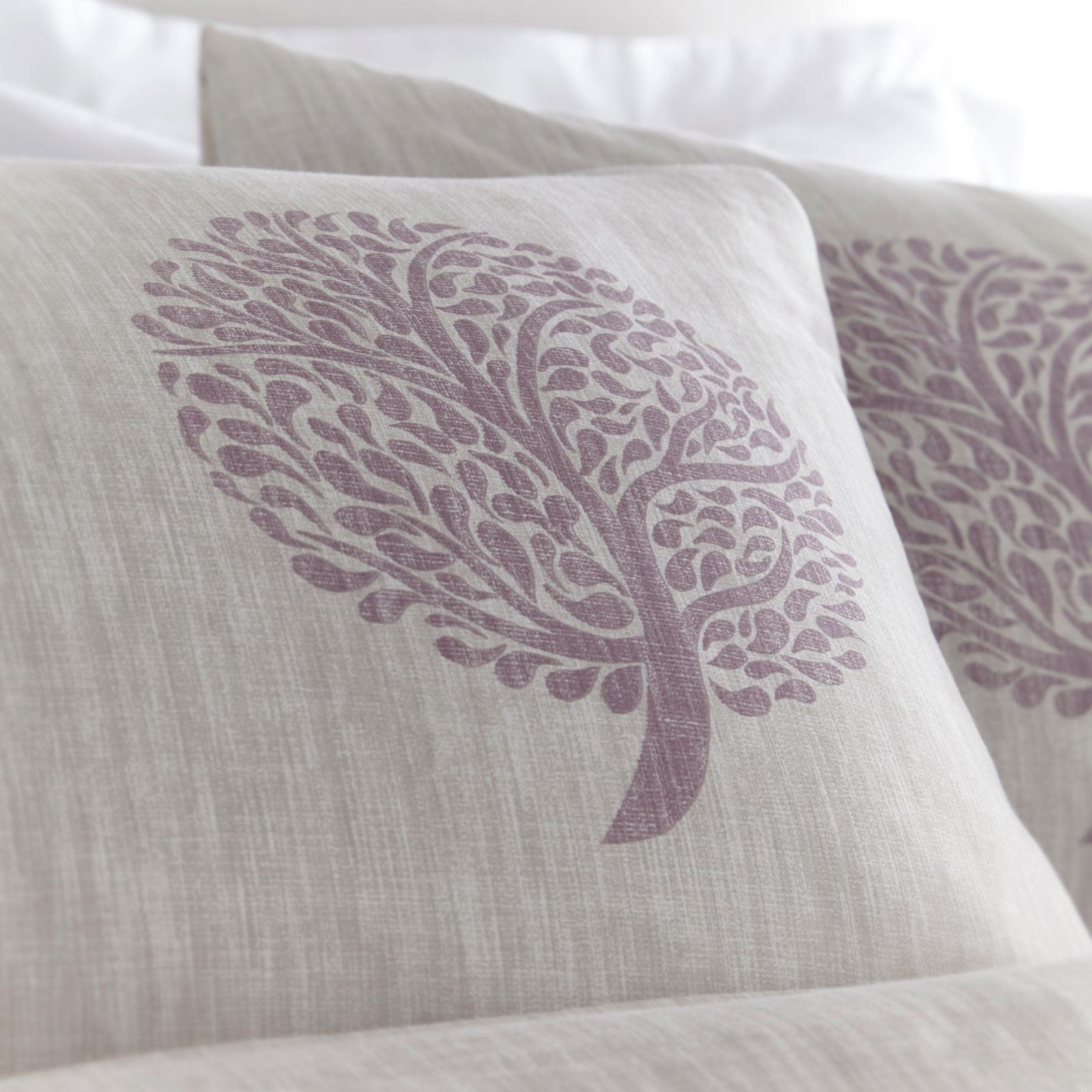 Violet housses de couette arbre Imprimer coton DE 200 fils avec Housse de couette Ensembles De Literie