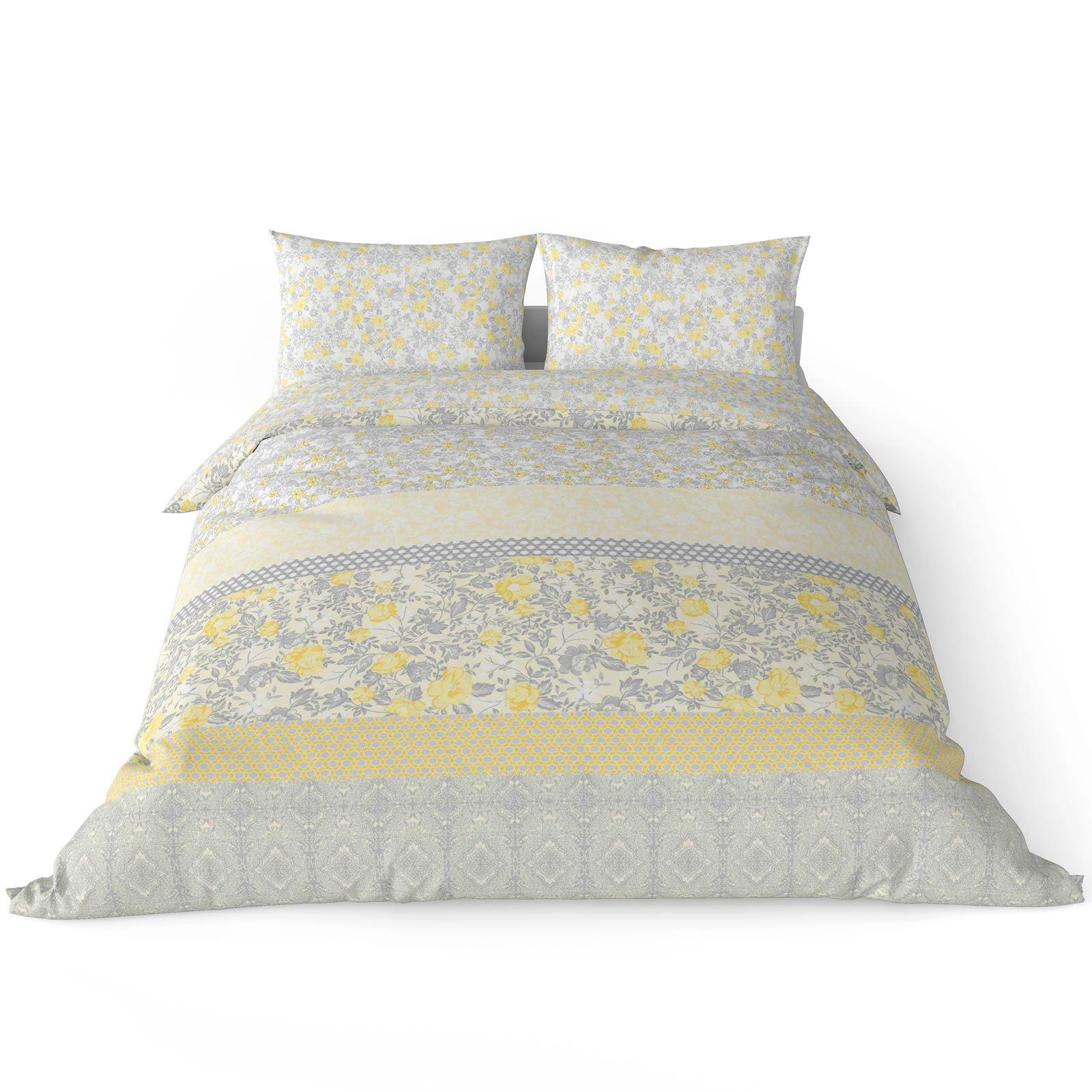 Mostaza-amarillo-ocre-Funda-de-edredon-impreso-Edredon-juego-ropa-de-cama-cubre-conjuntos miniatura 24