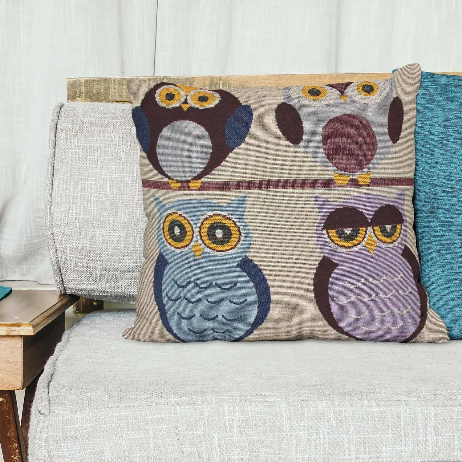 Tapestry-Cushion-Covers-Vintage-Pillow-Cover-Collection-18-034-45cm-Filled-Cushions thumbnail 152