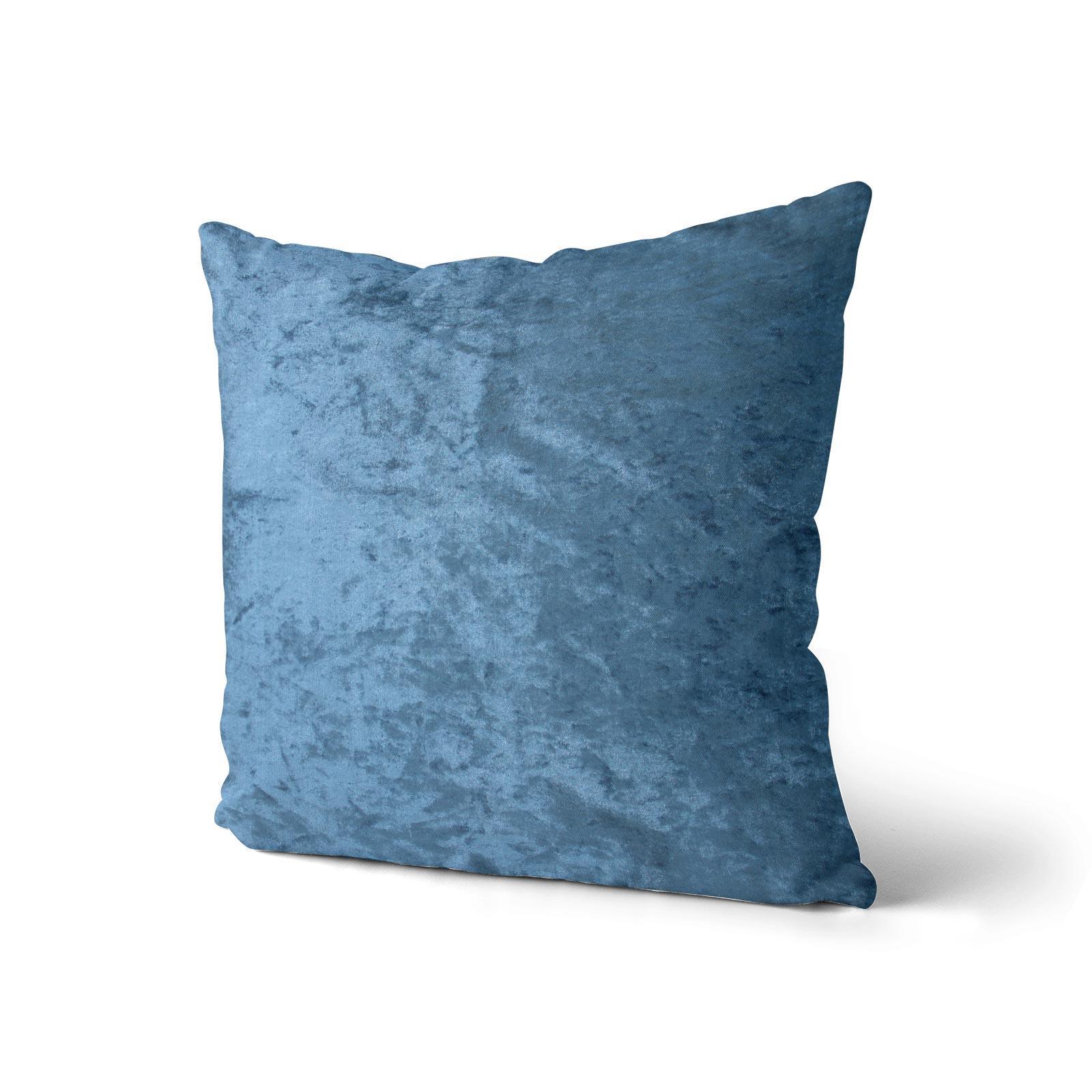 Cuscino-di-velluto-schiacciato-copre-GLAM-Tinta-Unita-Copricuscino-18-034-x-18-034-45cm-x-45cm miniatura 17