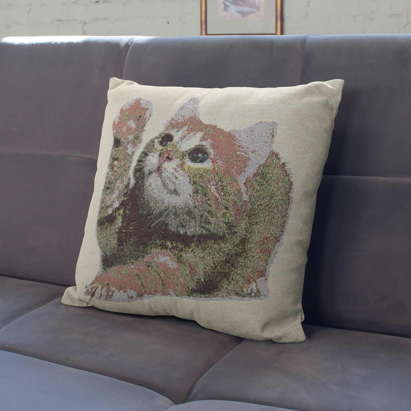 Tapestry-Cushion-Covers-Vintage-Pillow-Cover-Collection-18-034-45cm-Filled-Cushions thumbnail 96