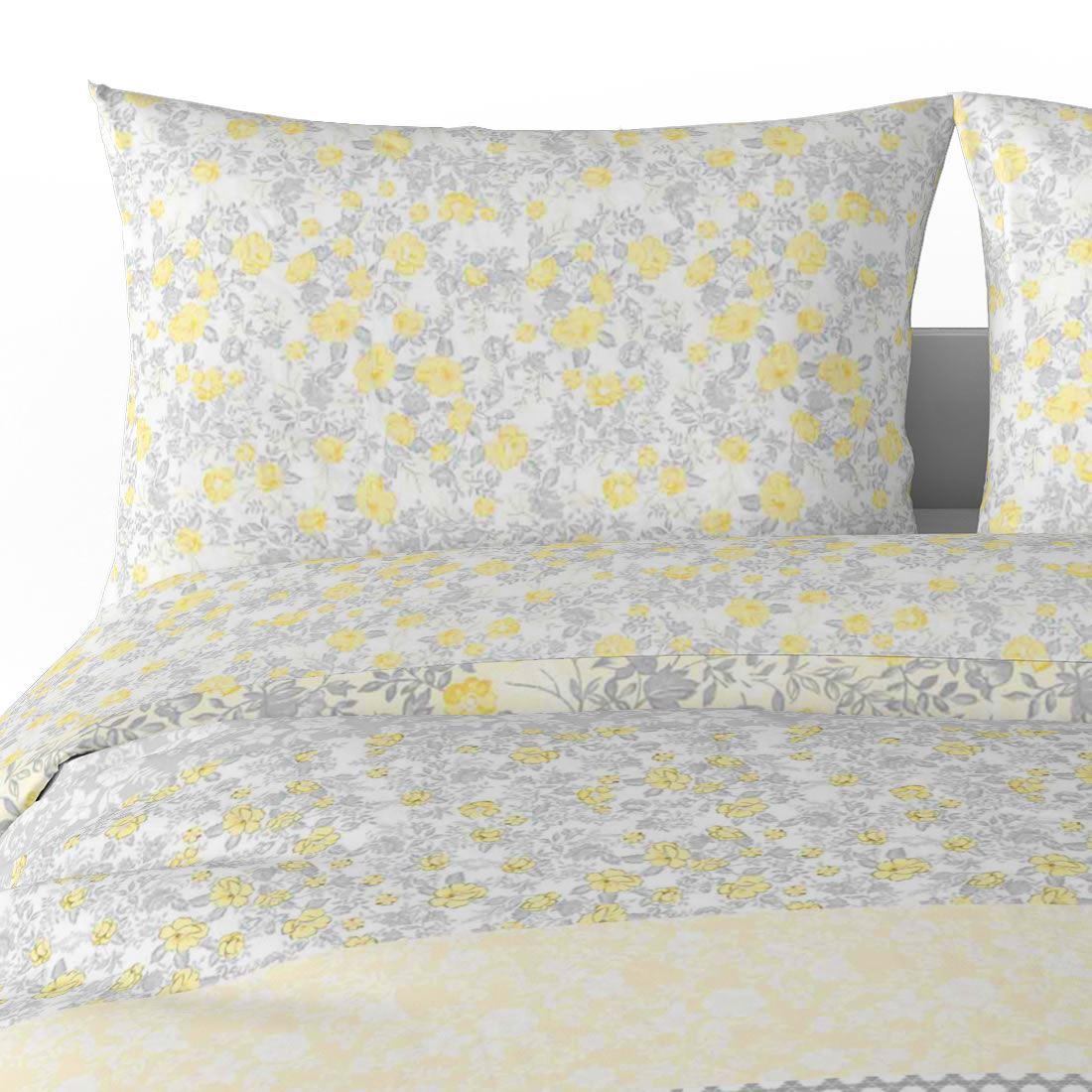 Mostaza-amarillo-ocre-Funda-de-edredon-impreso-Edredon-juego-ropa-de-cama-cubre-conjuntos miniatura 21