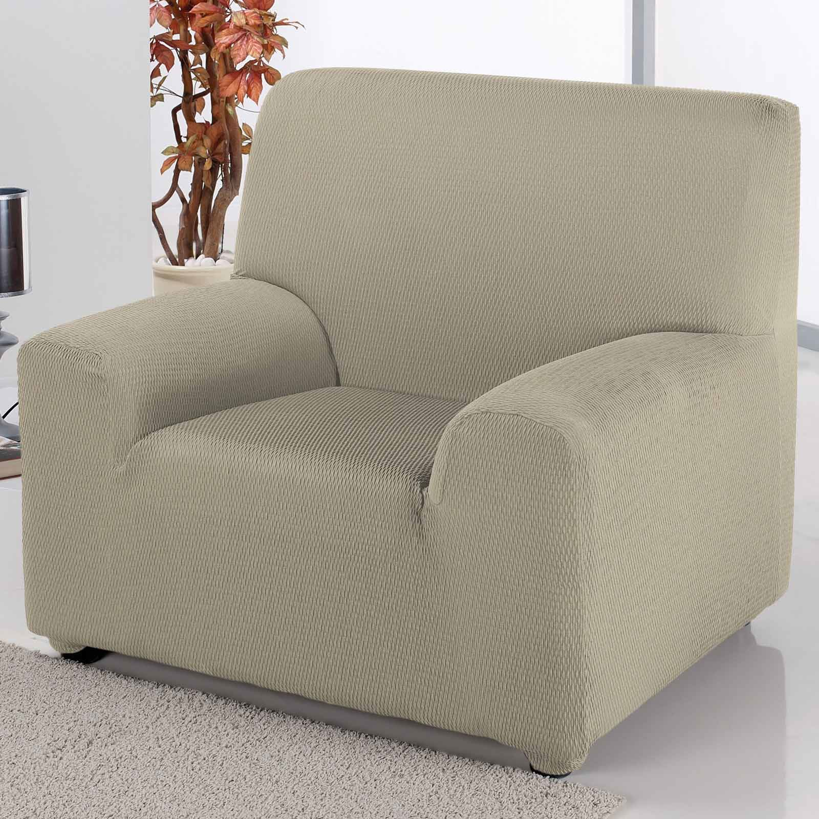 Stretch Sofa Covers Easy Fit Couch Armchair 1 2 3 Seater ...