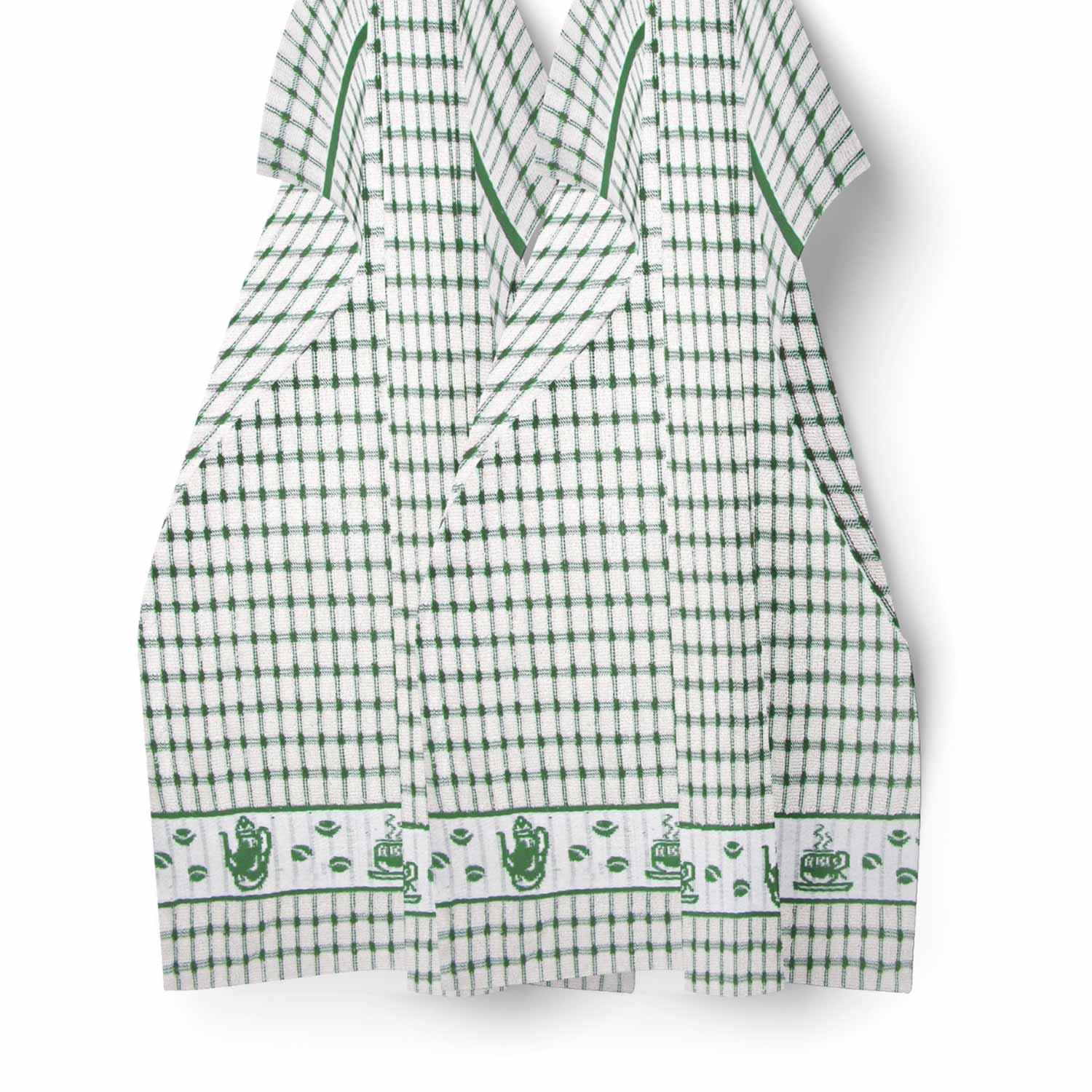 Packs-of-2-4-6-12-Tea-Towels-100-Cotton-Terry-Kitchen-Dish-Drying-Towel-Sets thumbnail 23