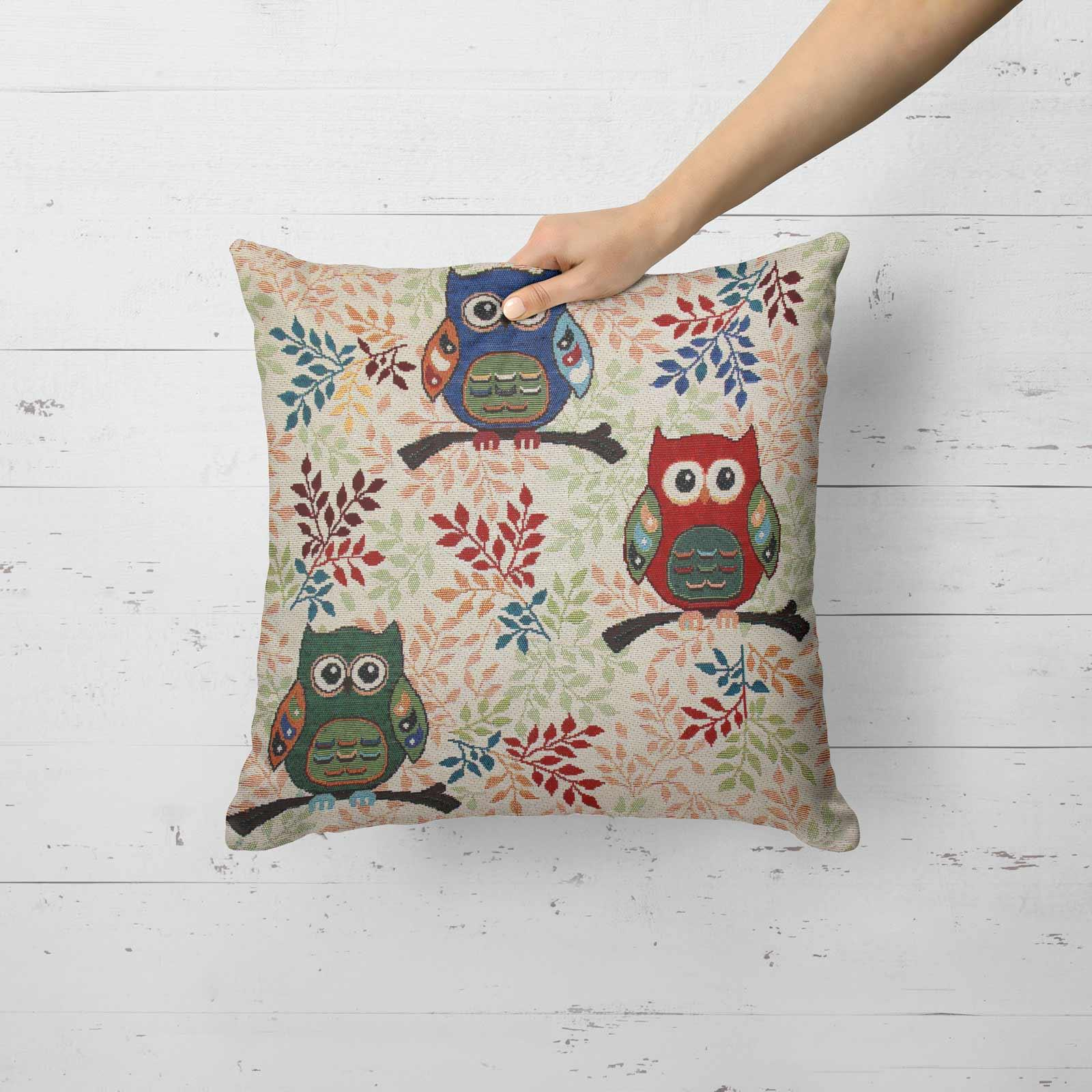 Tapestry-Cushion-Covers-Vintage-Pillow-Cover-Collection-18-034-45cm-Filled-Cushions thumbnail 207