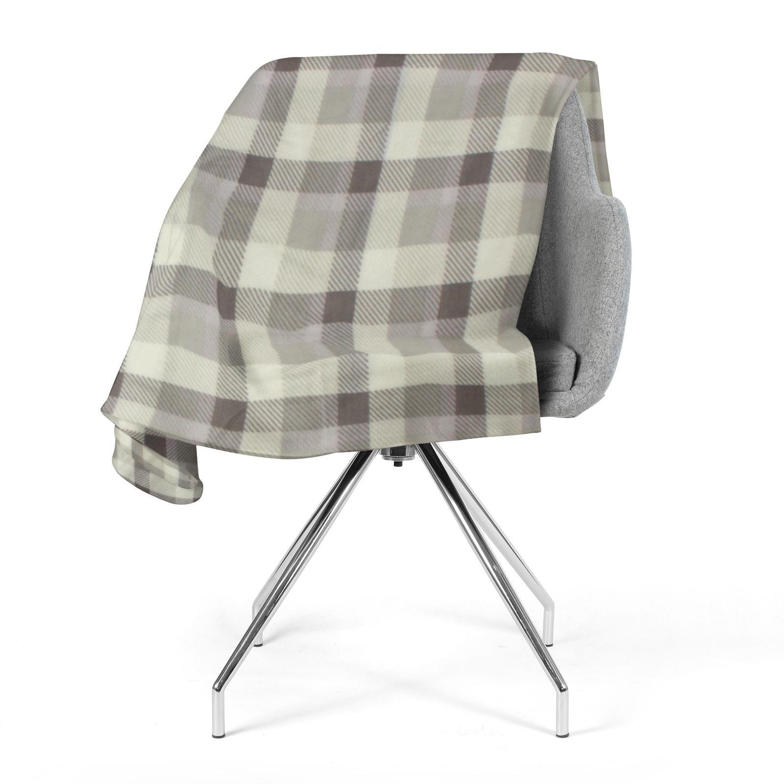 Sofa-de-verificacion-de-tartan-polar-mantas-polar-silla-acogedor-lanza-Manta-127cm-X-152cm miniatura 24