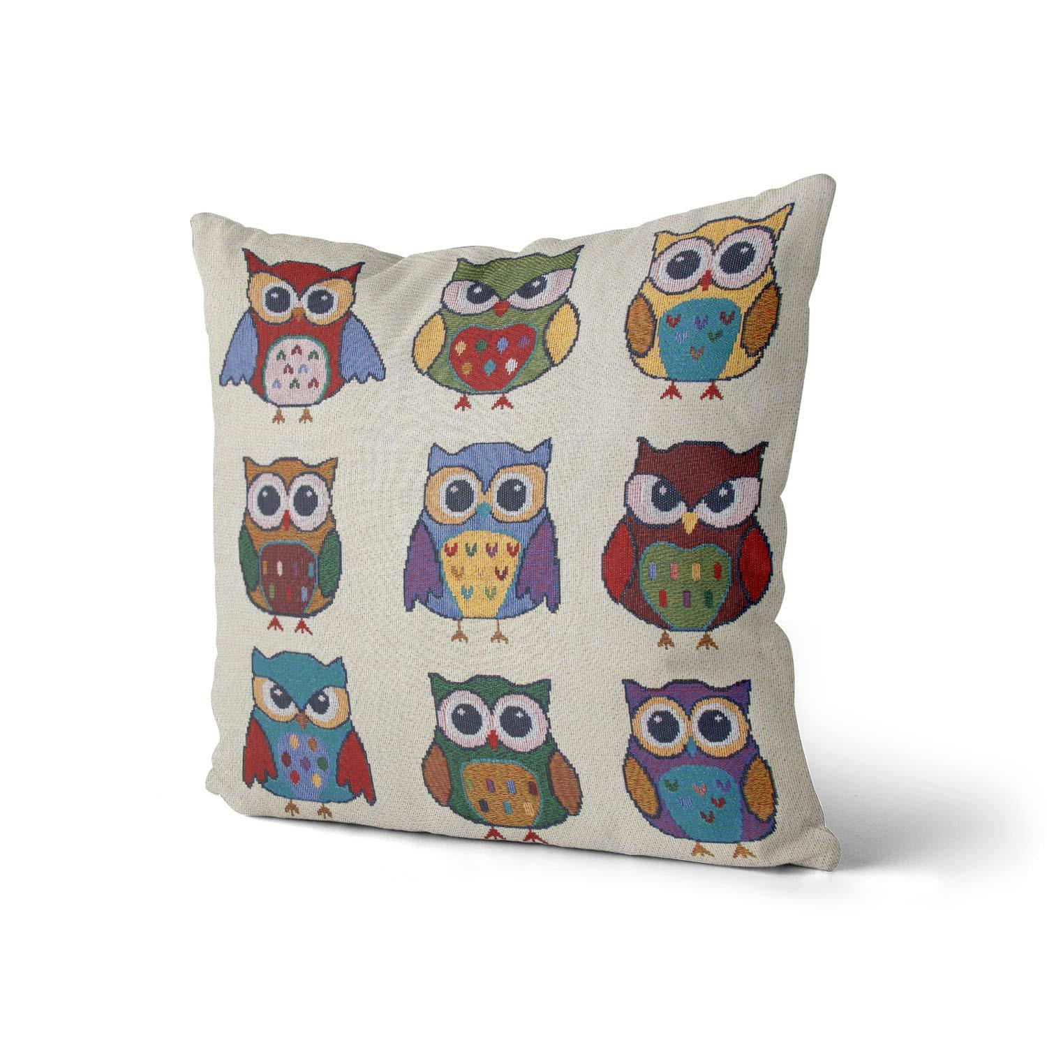 Tapestry-Cushion-Covers-Vintage-Pillow-Cover-Collection-18-034-45cm-Filled-Cushions thumbnail 160