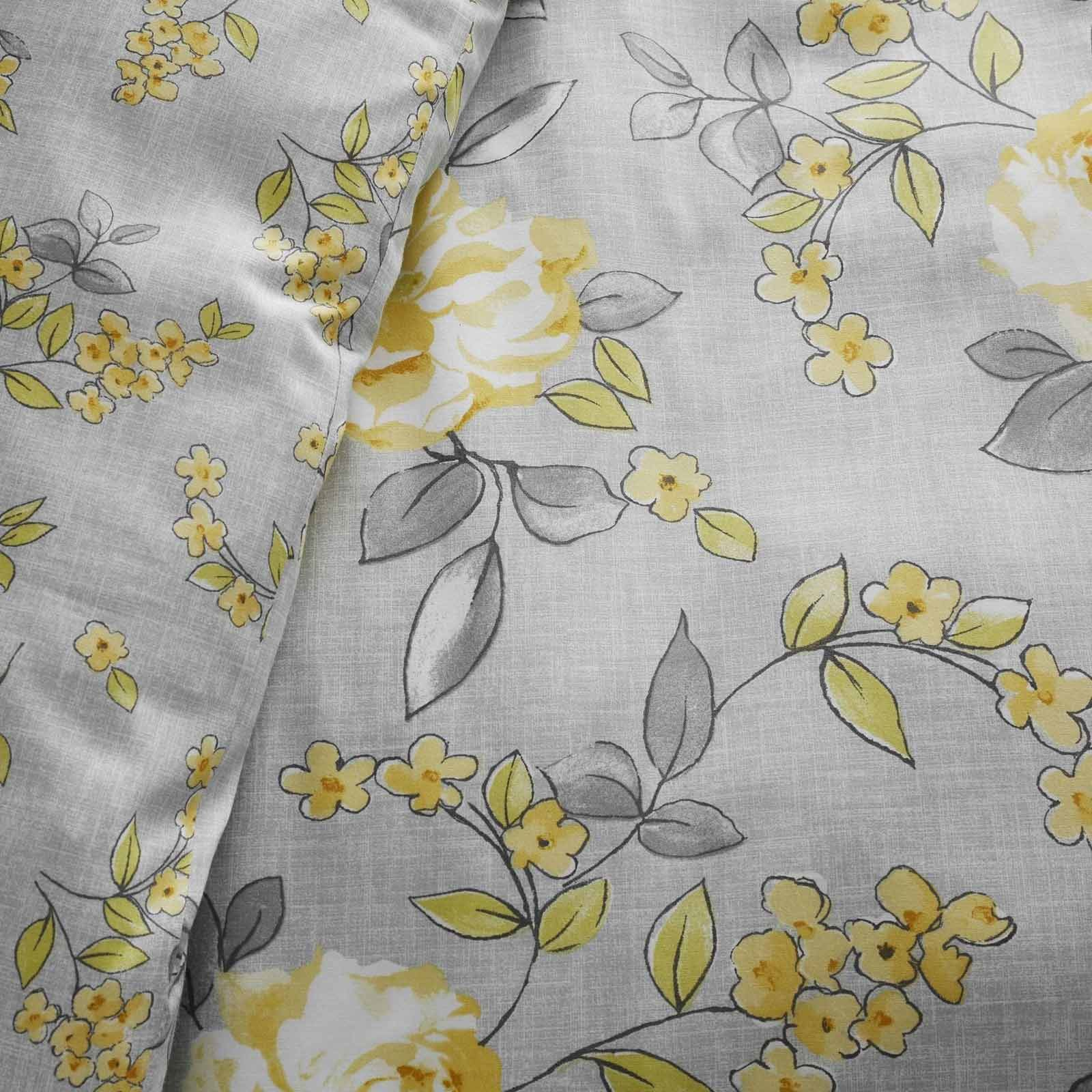 Mostaza-amarillo-ocre-Conjunto-de-Edredon-De-Funda-De-Edredon-Funda-De-Almohada-Individual-Doble miniatura 7