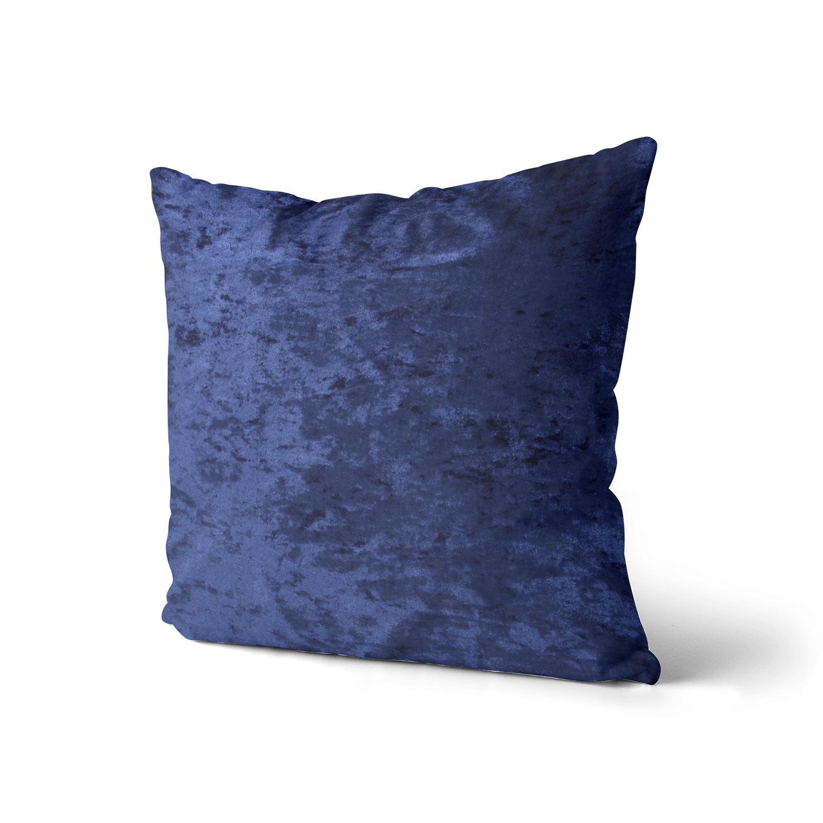 Cuscino-di-velluto-schiacciato-copre-GLAM-Tinta-Unita-Copricuscino-18-034-x-18-034-45cm-x-45cm miniatura 23