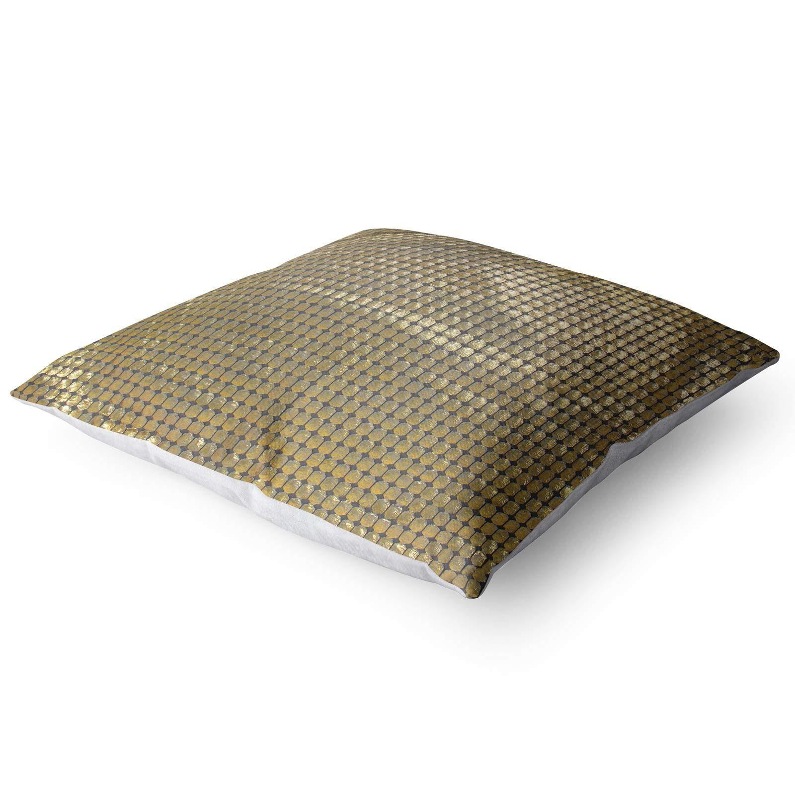 Impresion-de-lamina-metalica-Moderno-Funda-De-Cojin-Almohadon-cubiertas-de-cojines-18-034-X-18-034 miniatura 9