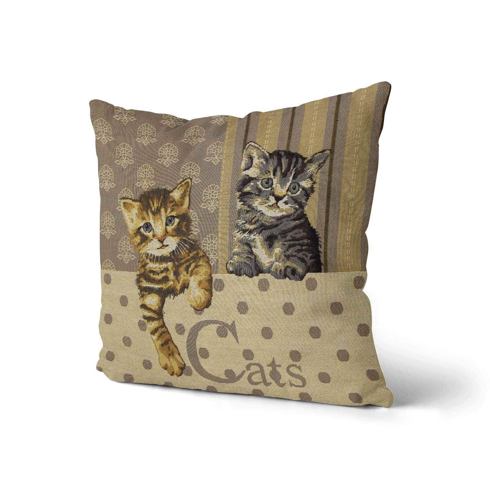 Tapestry-Cushion-Covers-Vintage-Pillow-Cover-Collection-18-034-45cm-Filled-Cushions thumbnail 19