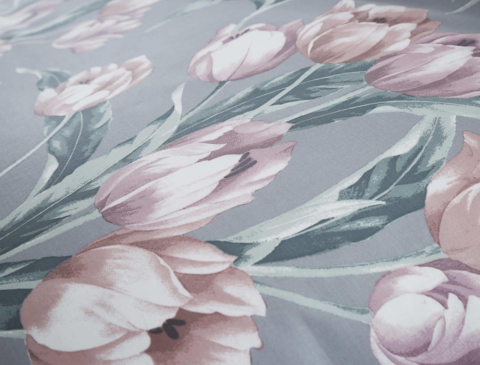Cubierta-Edredon-Rosa-Blush-Rose-Impreso-juego-De-Edredon-Conjuntos-de-Cama-cubre-Jacquard miniatura 48