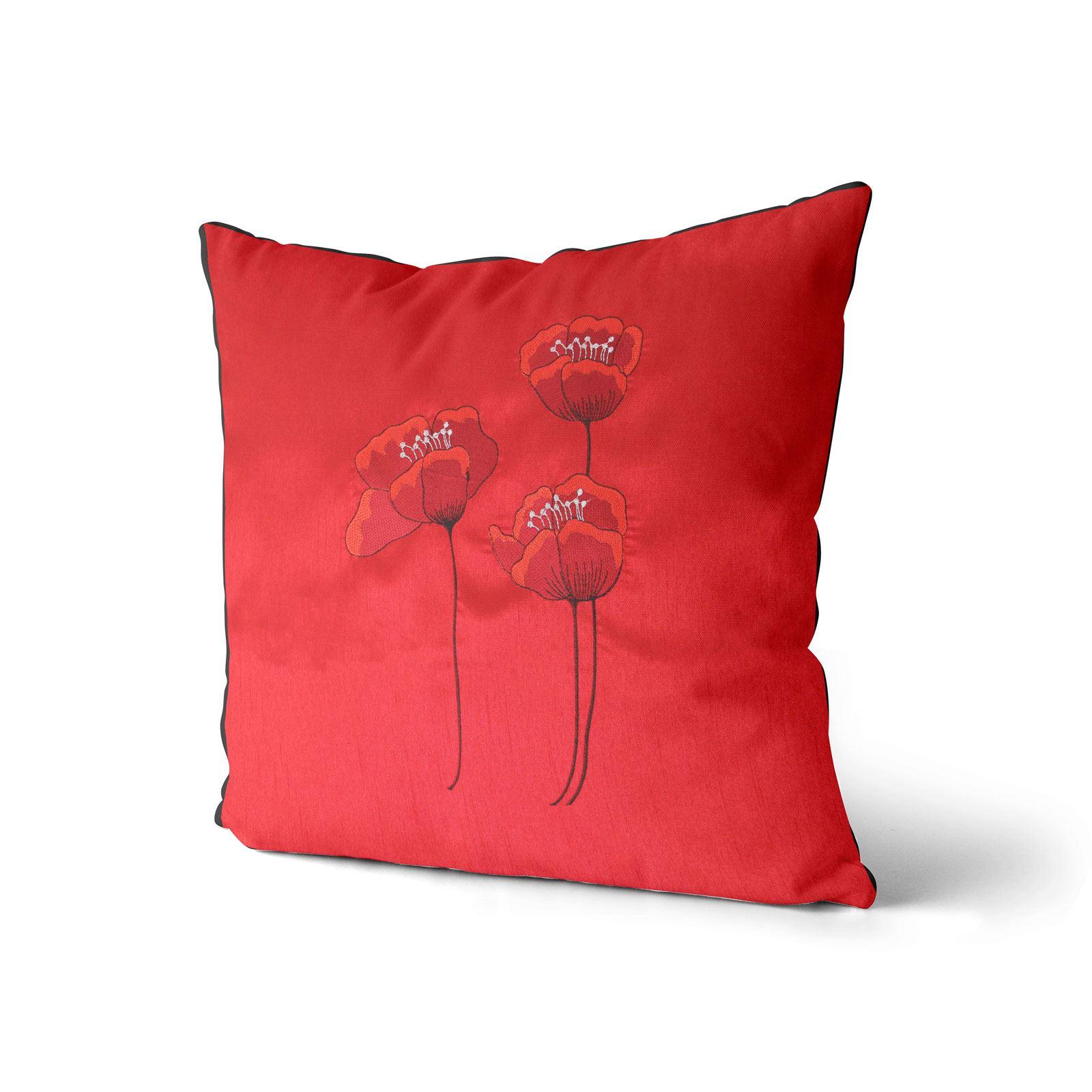 Vino-Tinto-Cushion-Covers-Coleccion-17-034-18-034-43cm-45cm-Cubierta miniatura 34