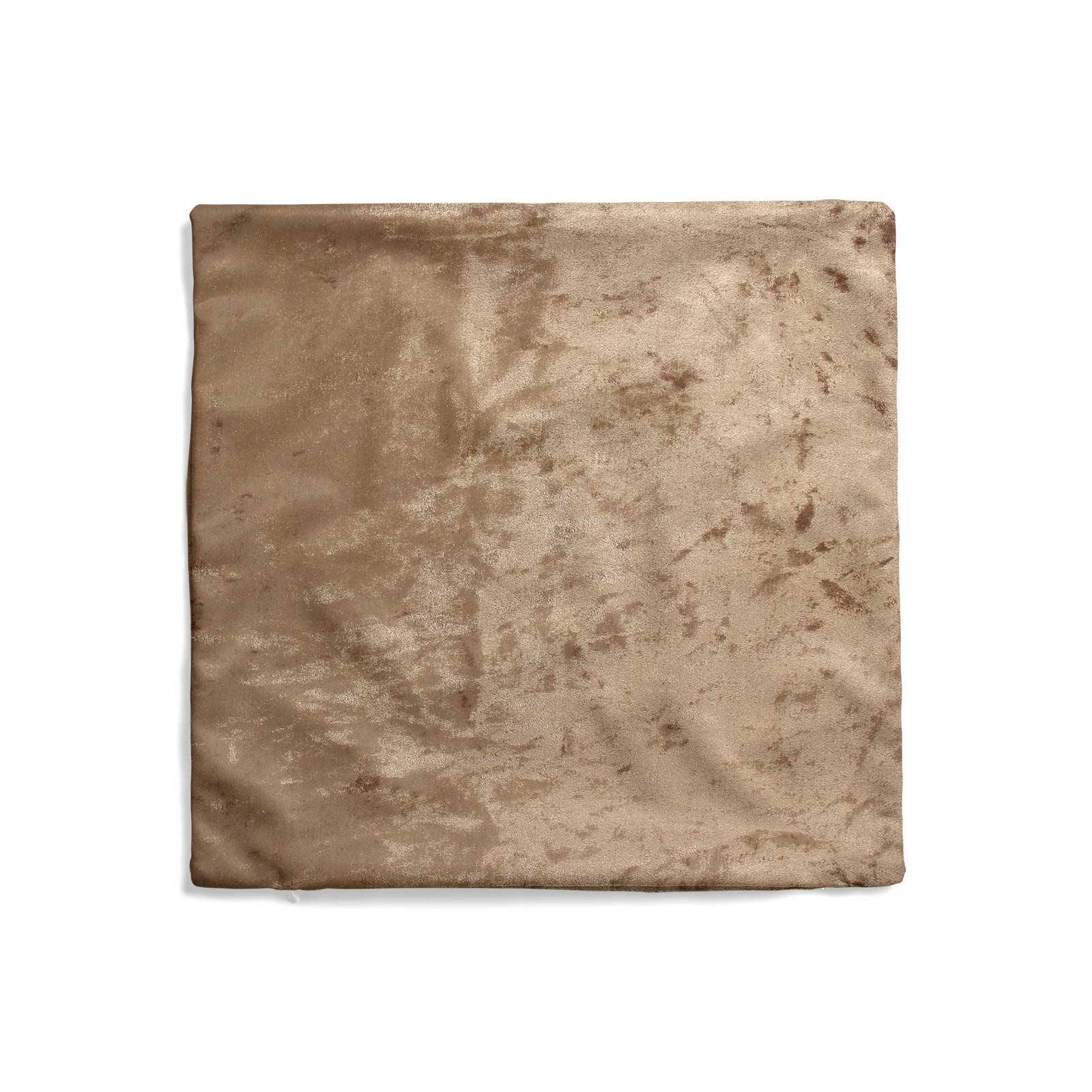 Cuscino-di-velluto-schiacciato-copre-GLAM-Tinta-Unita-Copricuscino-18-034-x-18-034-45cm-x-45cm miniatura 34