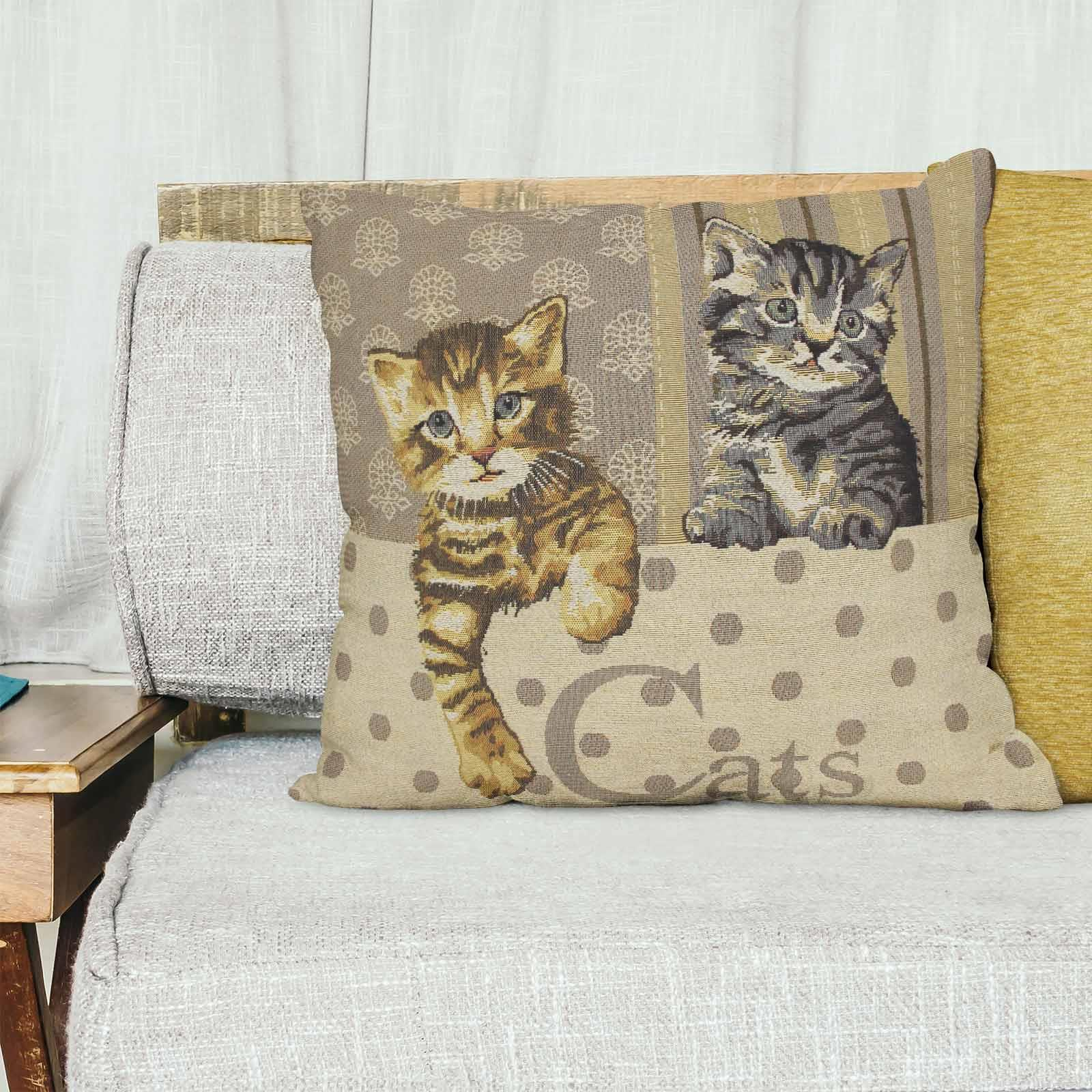 Tapestry-Cushion-Covers-Vintage-Pillow-Cover-Collection-18-034-45cm-Filled-Cushions thumbnail 21