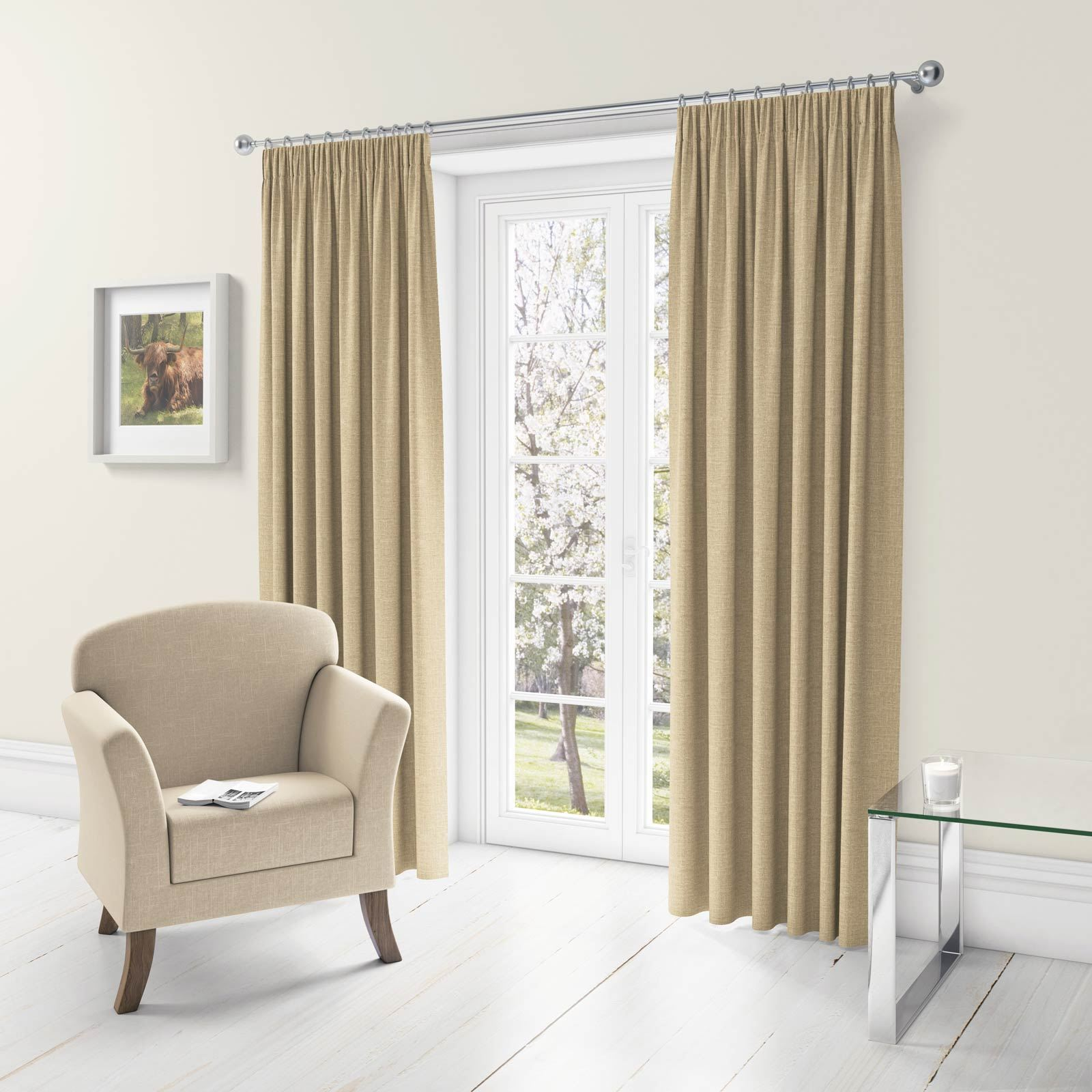 Stunning Linen Style Tape Top Curtains Available In A Range Of Sizes And Colours These Pencil Pleat Do Fantastic Blocking Out The Majority