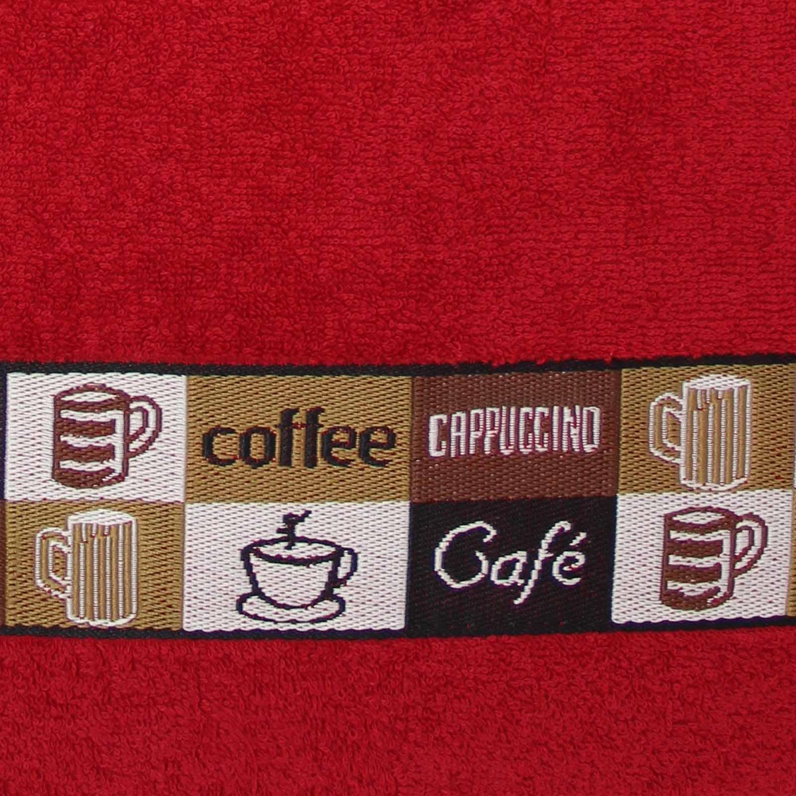 Envases-de-1-2-4-panos-de-cocina-100-Algodon-Terry-Toalla-de-secado-de-Cocina-Plato-Cafe-conjuntos miniatura 42