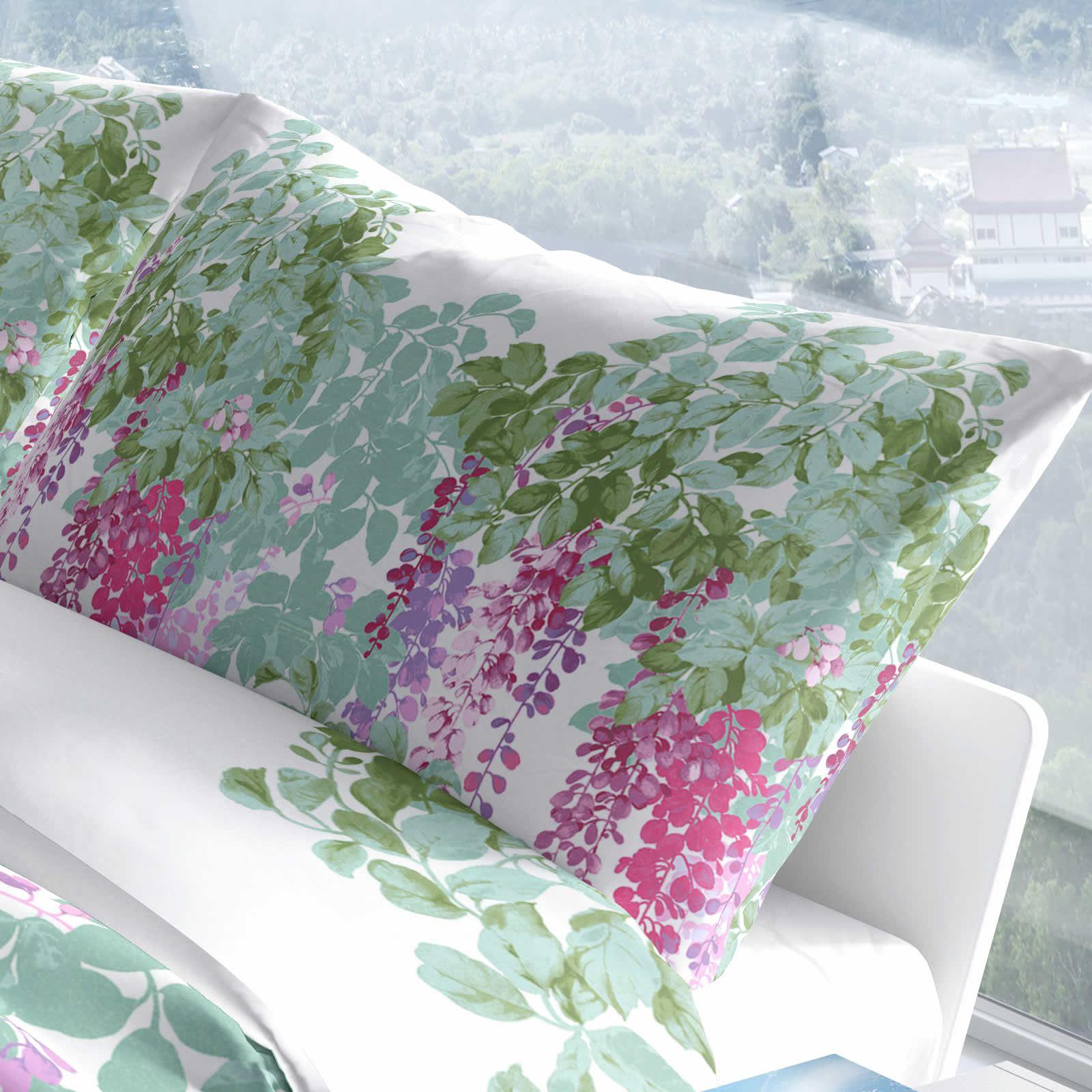 Heather Heather Heather copripiumini LILLA Stampato Cotone Quilt Set Set di biancheria da letto copertura 3edc0c