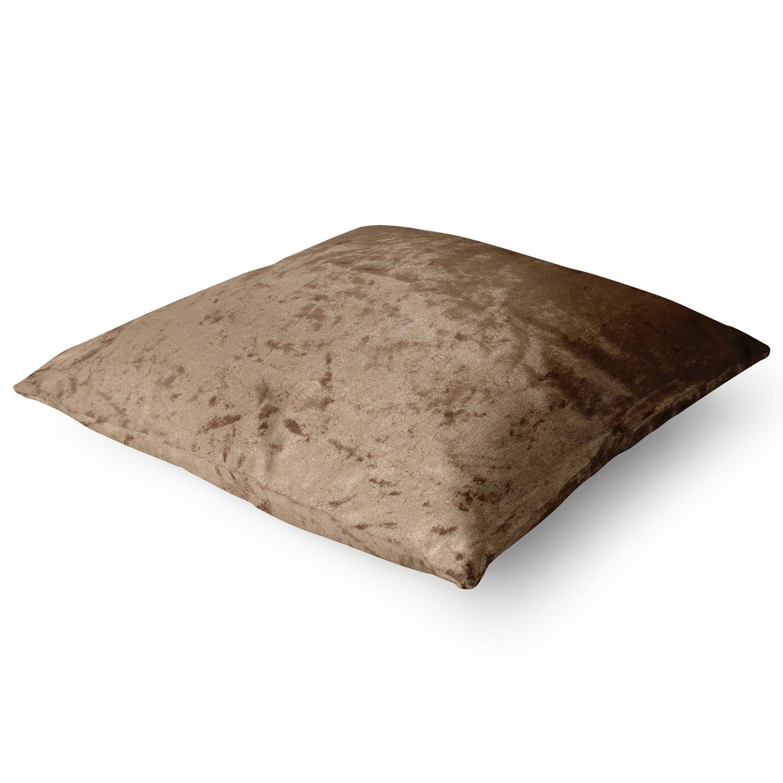 Cuscino-di-velluto-schiacciato-copre-GLAM-Tinta-Unita-Copricuscino-18-034-x-18-034-45cm-x-45cm miniatura 33