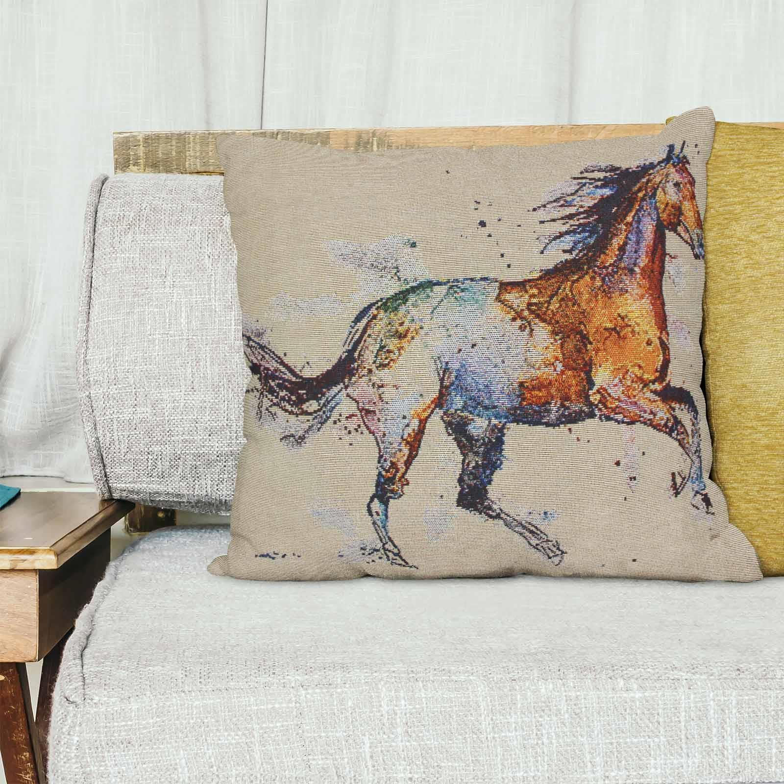 Tapestry-Cushion-Covers-Vintage-Pillow-Cover-Collection-18-034-45cm-Filled-Cushions thumbnail 76