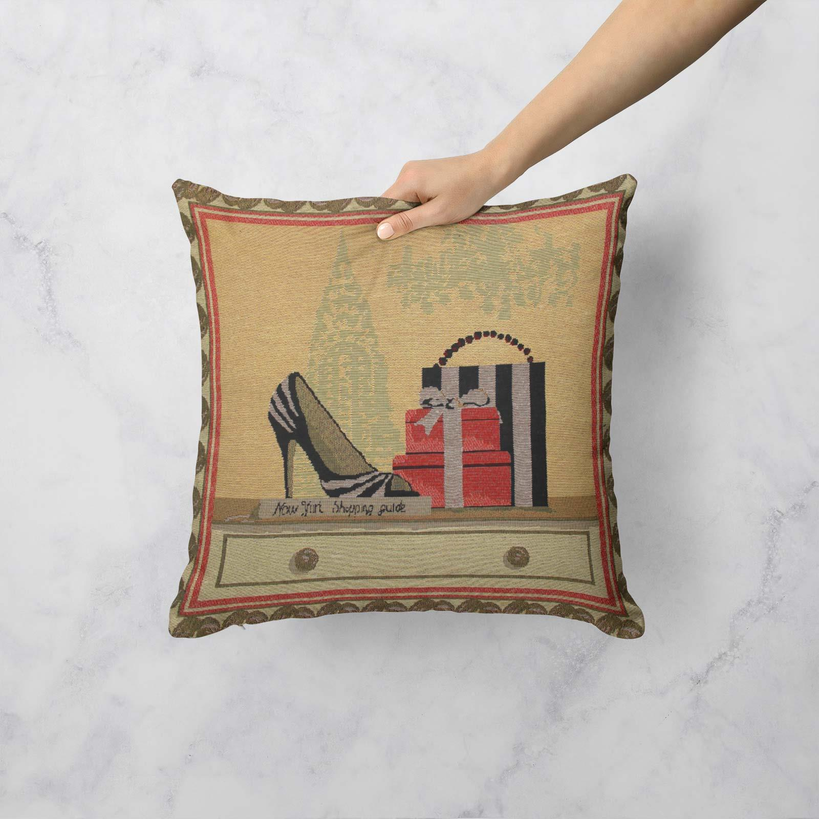 Tapestry-Cushion-Covers-Vintage-Pillow-Cover-Collection-18-034-45cm-Filled-Cushions thumbnail 146
