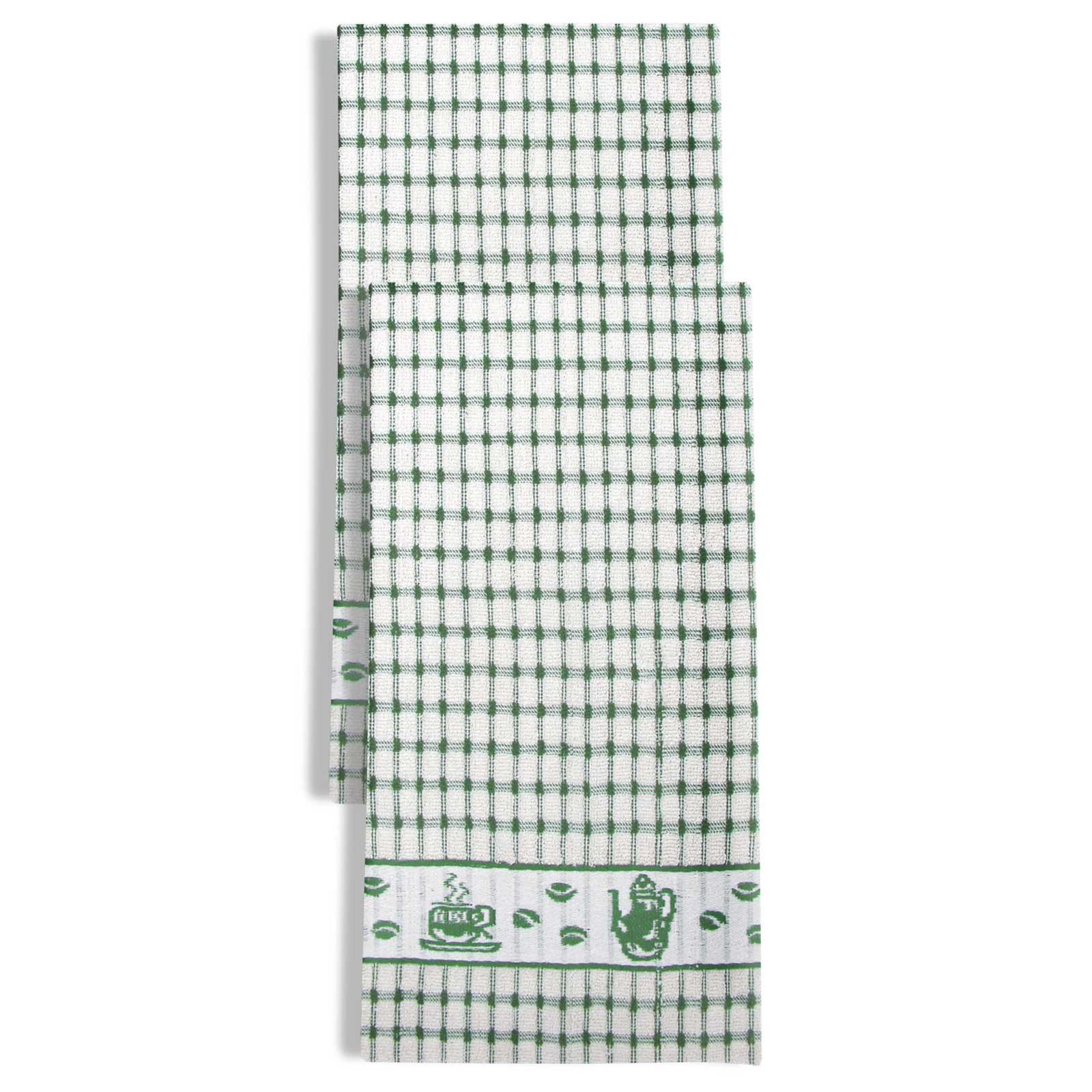 Packs-of-2-4-6-12-Tea-Towels-100-Cotton-Terry-Kitchen-Dish-Drying-Towel-Sets thumbnail 24