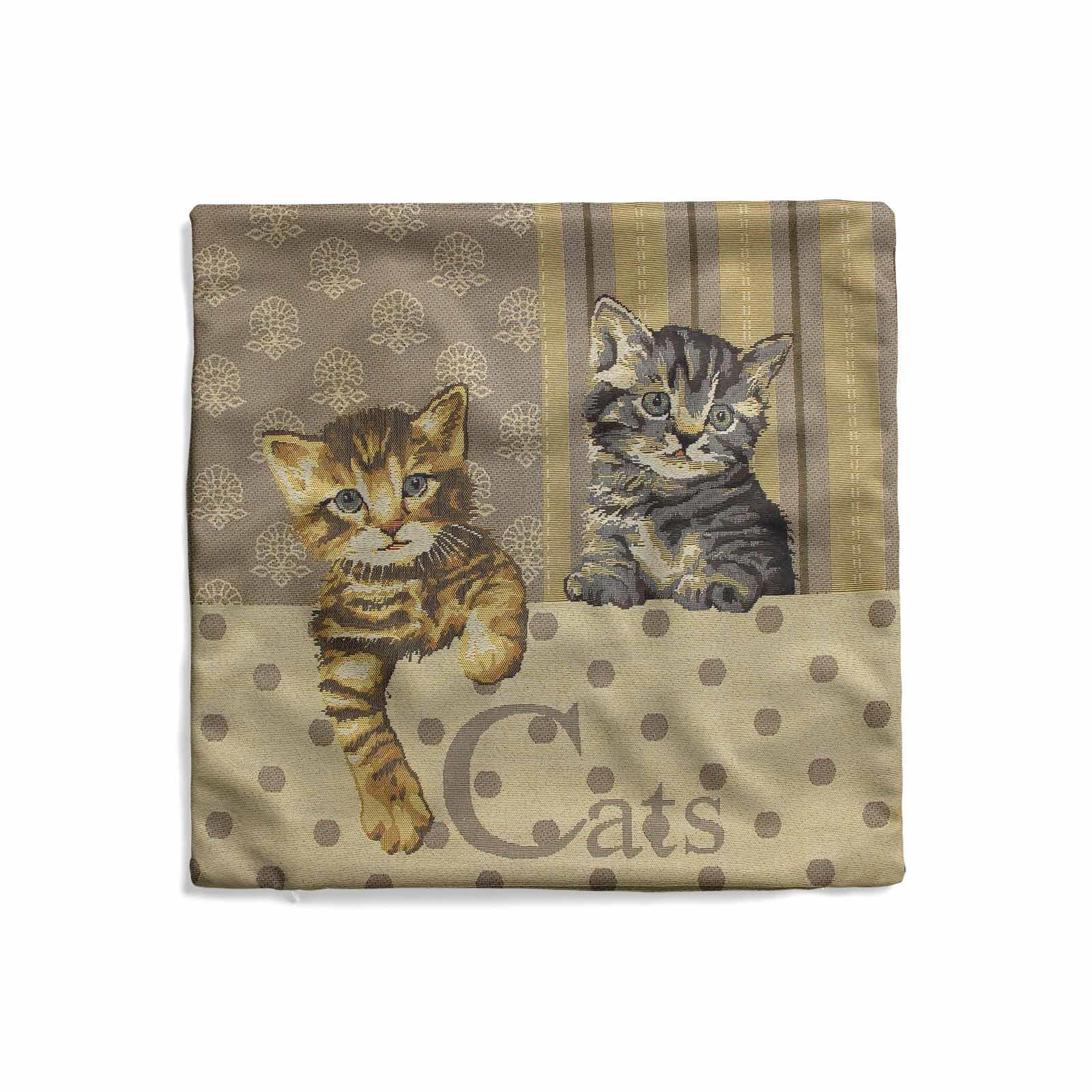 Tapestry-Cushion-Covers-Vintage-Pillow-Cover-Collection-18-034-45cm-Filled-Cushions thumbnail 18