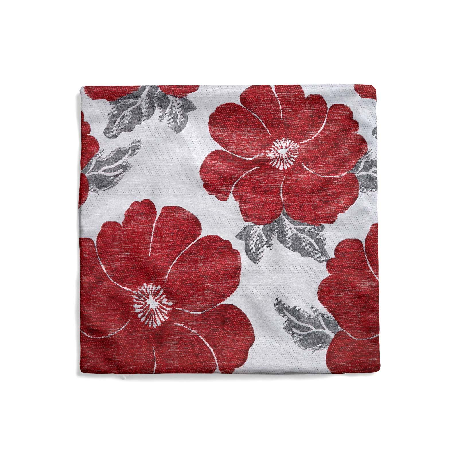 Chenille-Cushion-Cover-Floral-Reversible-Thick-Cushions-Covers-18-034-22-034-9-Colours thumbnail 34