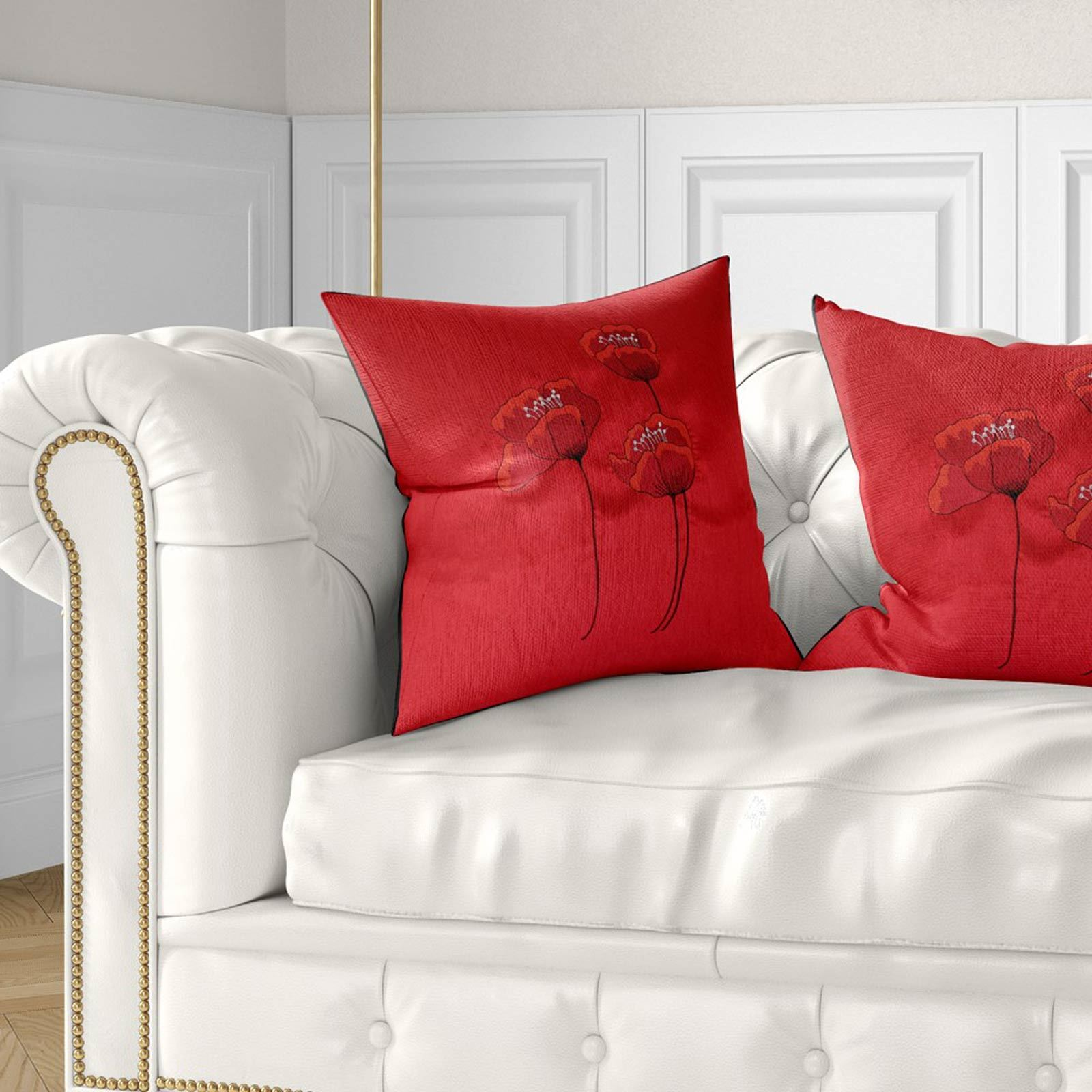 Vino-Tinto-Cushion-Covers-Coleccion-17-034-18-034-43cm-45cm-Cubierta miniatura 36