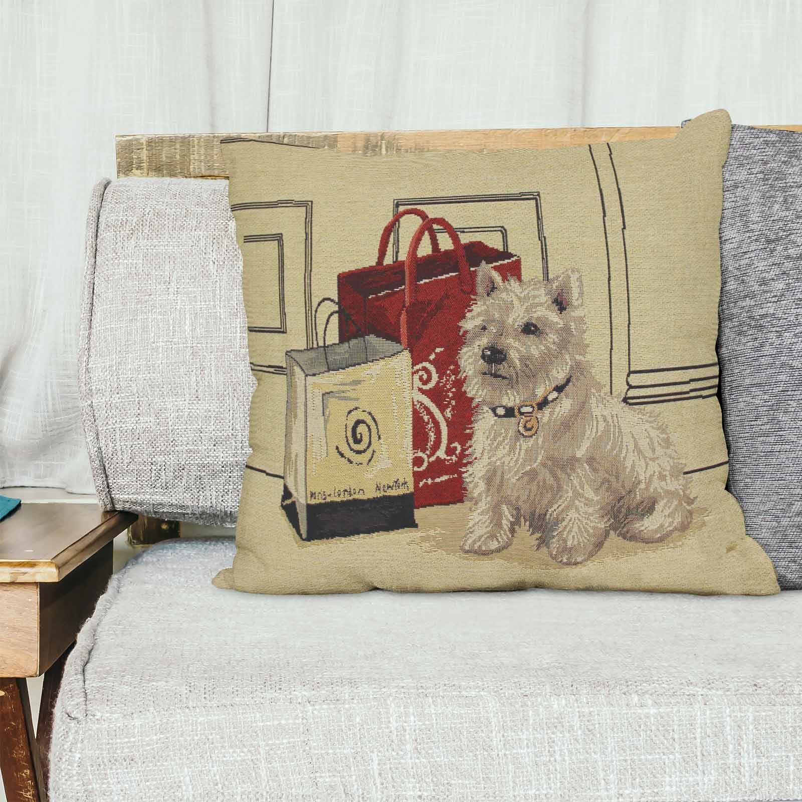 Tapestry-Cushion-Covers-Vintage-Pillow-Cover-Collection-18-034-45cm-Filled-Cushions thumbnail 173