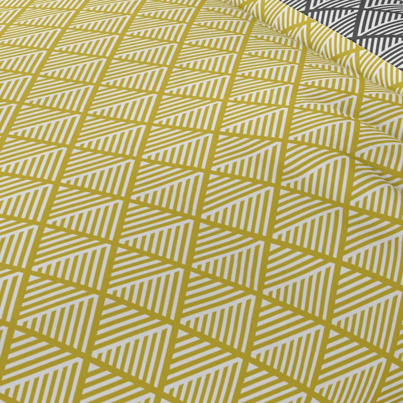 Mostaza-amarillo-ocre-Funda-de-edredon-impreso-Edredon-juego-ropa-de-cama-cubre-conjuntos miniatura 26