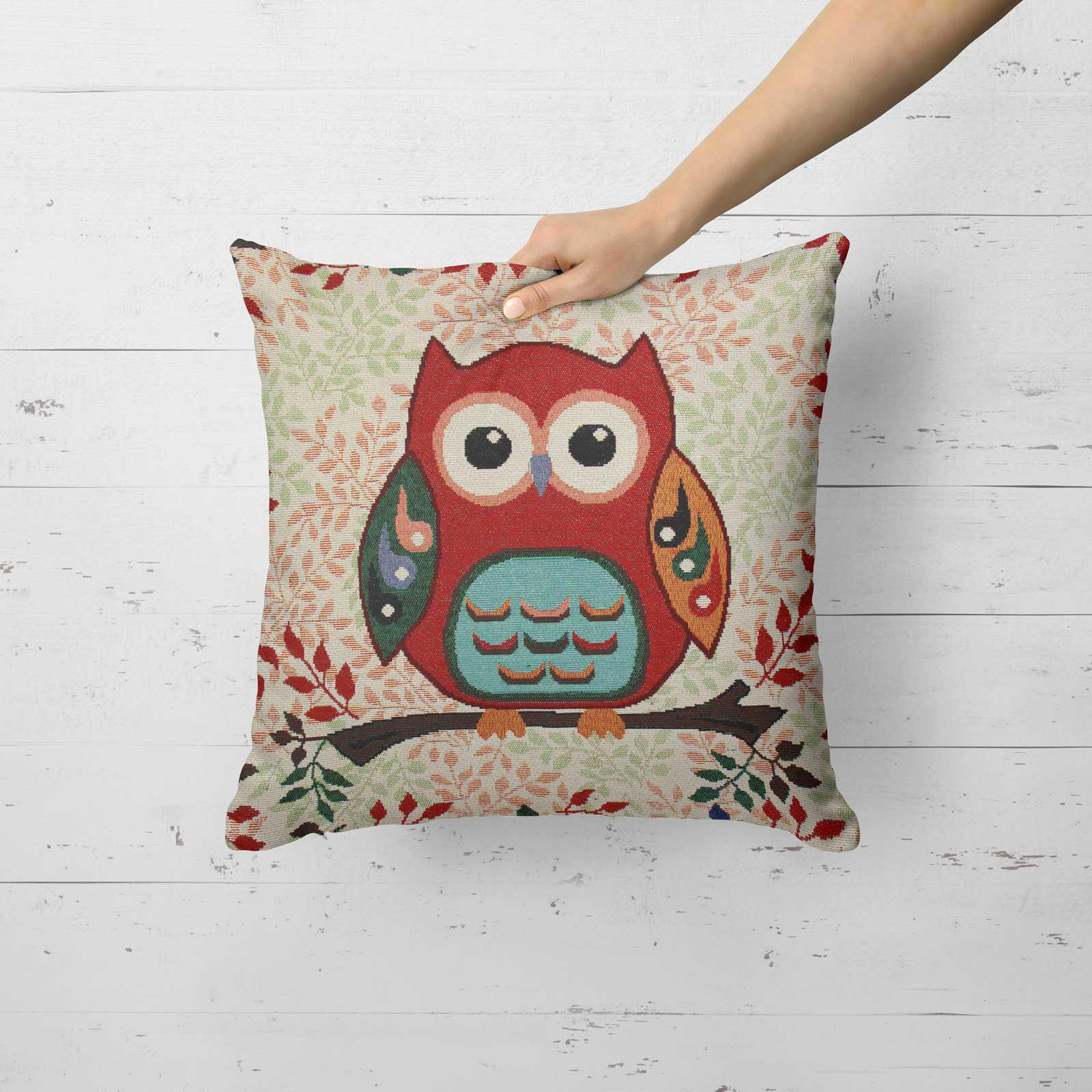 Tapestry-Cushion-Covers-Vintage-Pillow-Cover-Collection-18-034-45cm-Filled-Cushions thumbnail 212