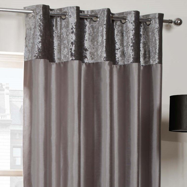 Image result for silver grey curtains