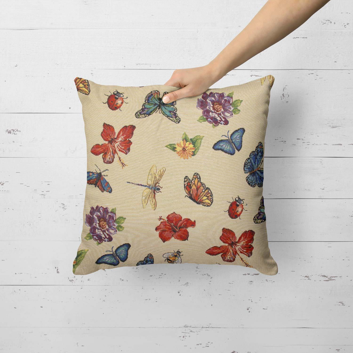 Tapestry-Cushion-Covers-Vintage-Pillow-Cover-Collection-18-034-45cm-Filled-Cushions thumbnail 110