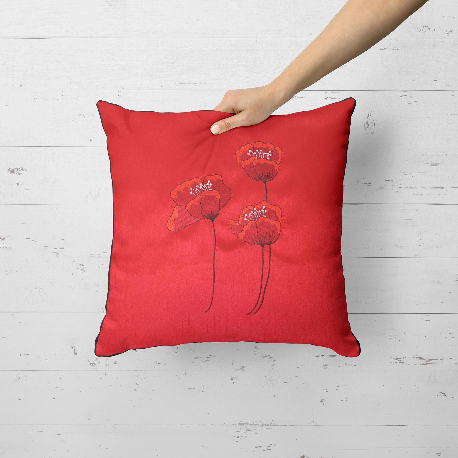 Vino-Tinto-Cushion-Covers-Coleccion-17-034-18-034-43cm-45cm-Cubierta miniatura 35