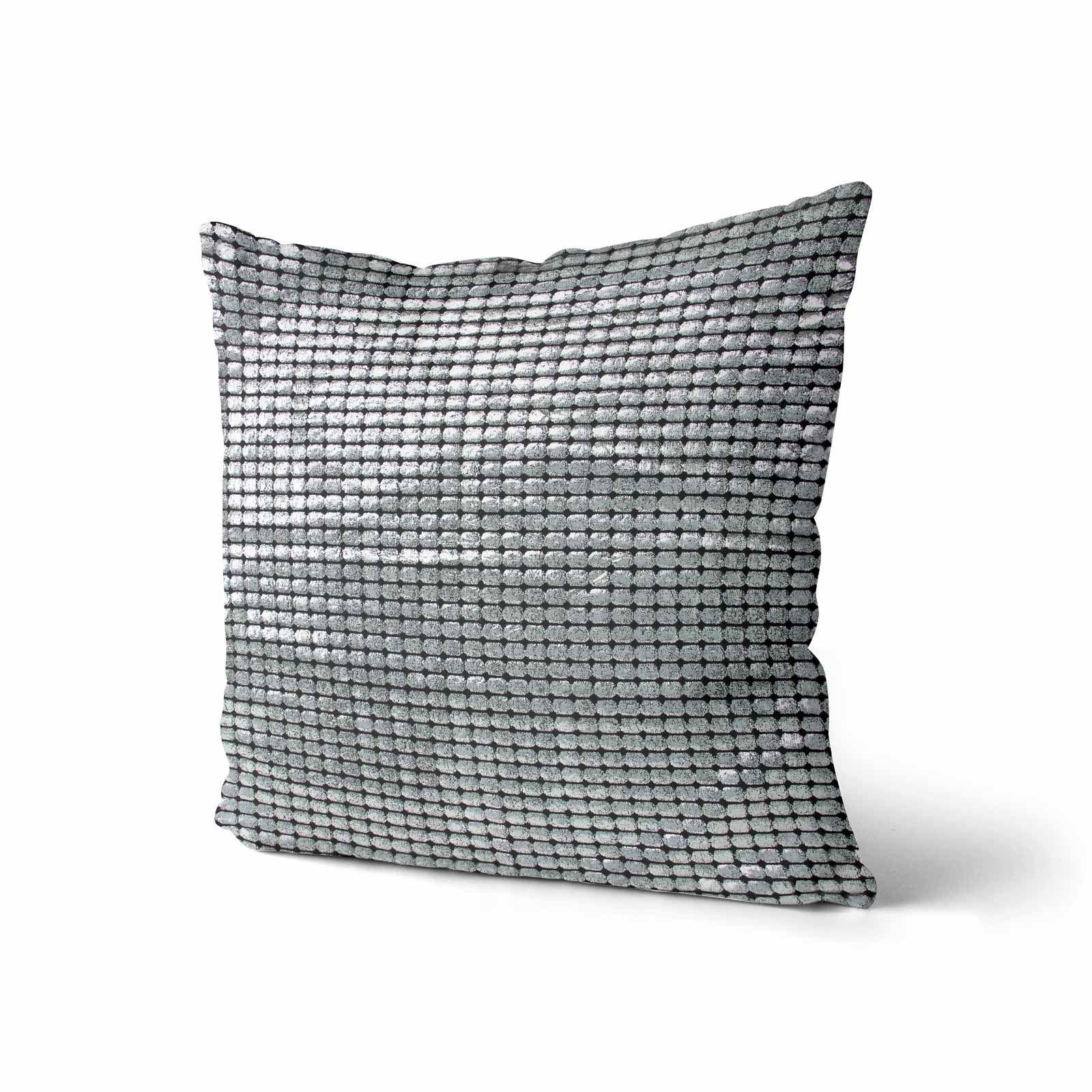 Impresion-de-lamina-metalica-Moderno-Funda-De-Cojin-Almohadon-cubiertas-de-cojines-18-034-X-18-034 miniatura 23