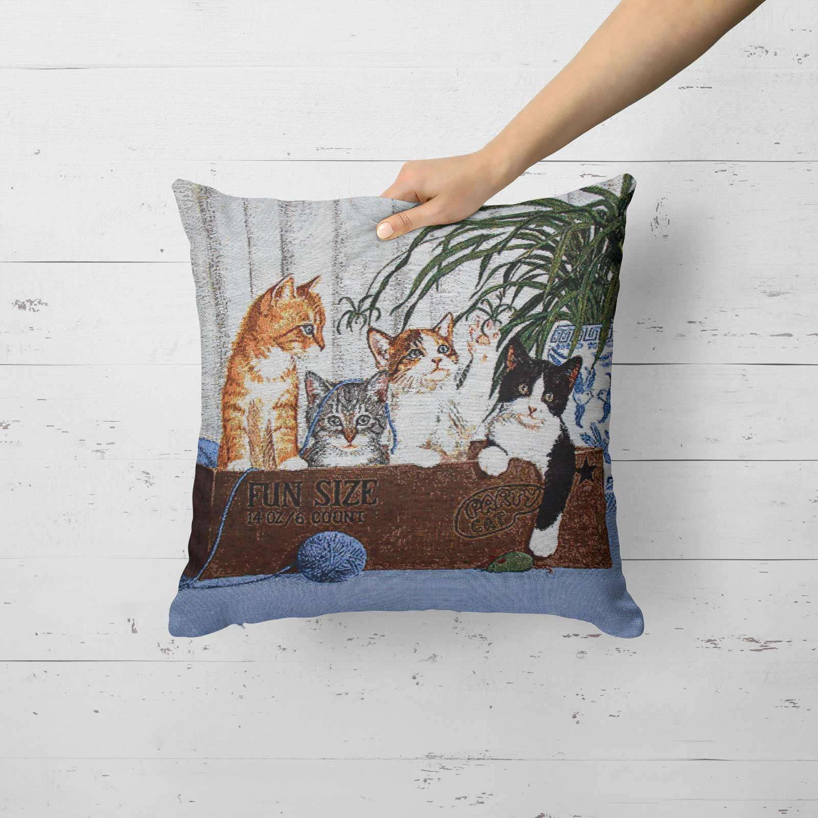 Tapestry-Cushion-Covers-Vintage-Pillow-Cover-Collection-18-034-45cm-Filled-Cushions thumbnail 100