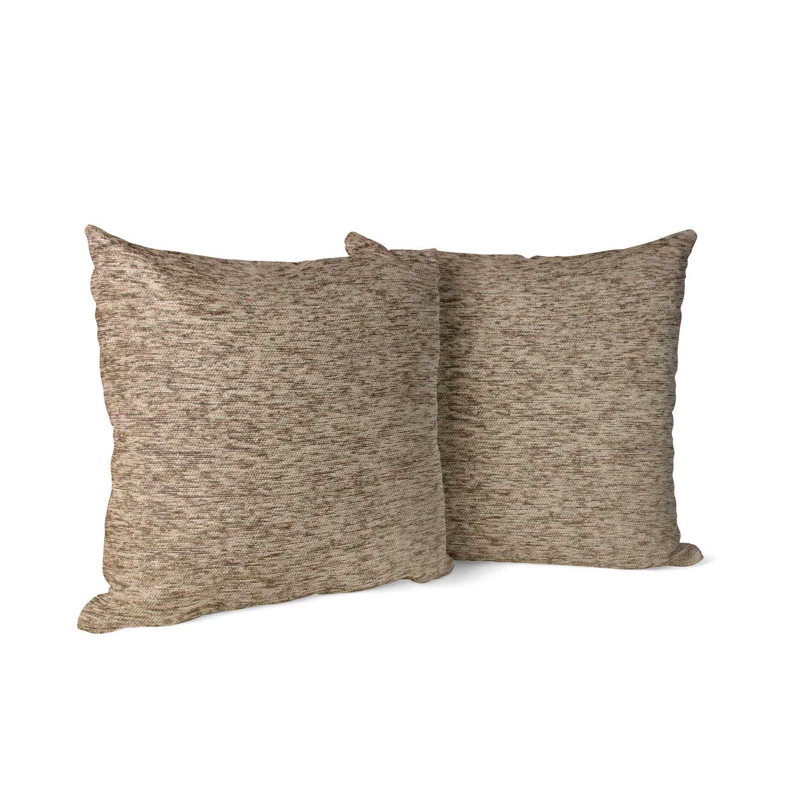 Set-of-2-Chenille-Cushion-Covers-Luxury-Plain-Cushions-Cover-Pairs-18-034-x-18-034 thumbnail 40