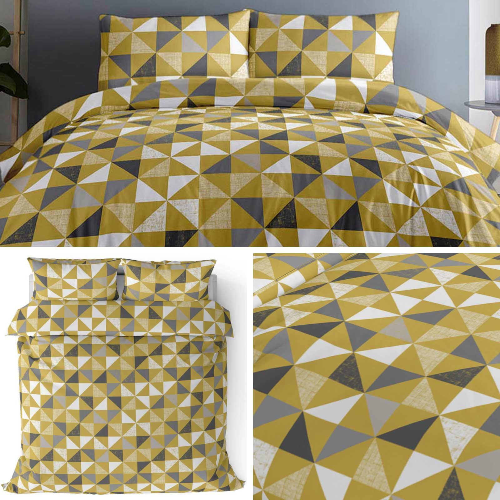 Ocker Duvet Covers Gelb Geo Senf Geometrische Gedruckt Bettbezug