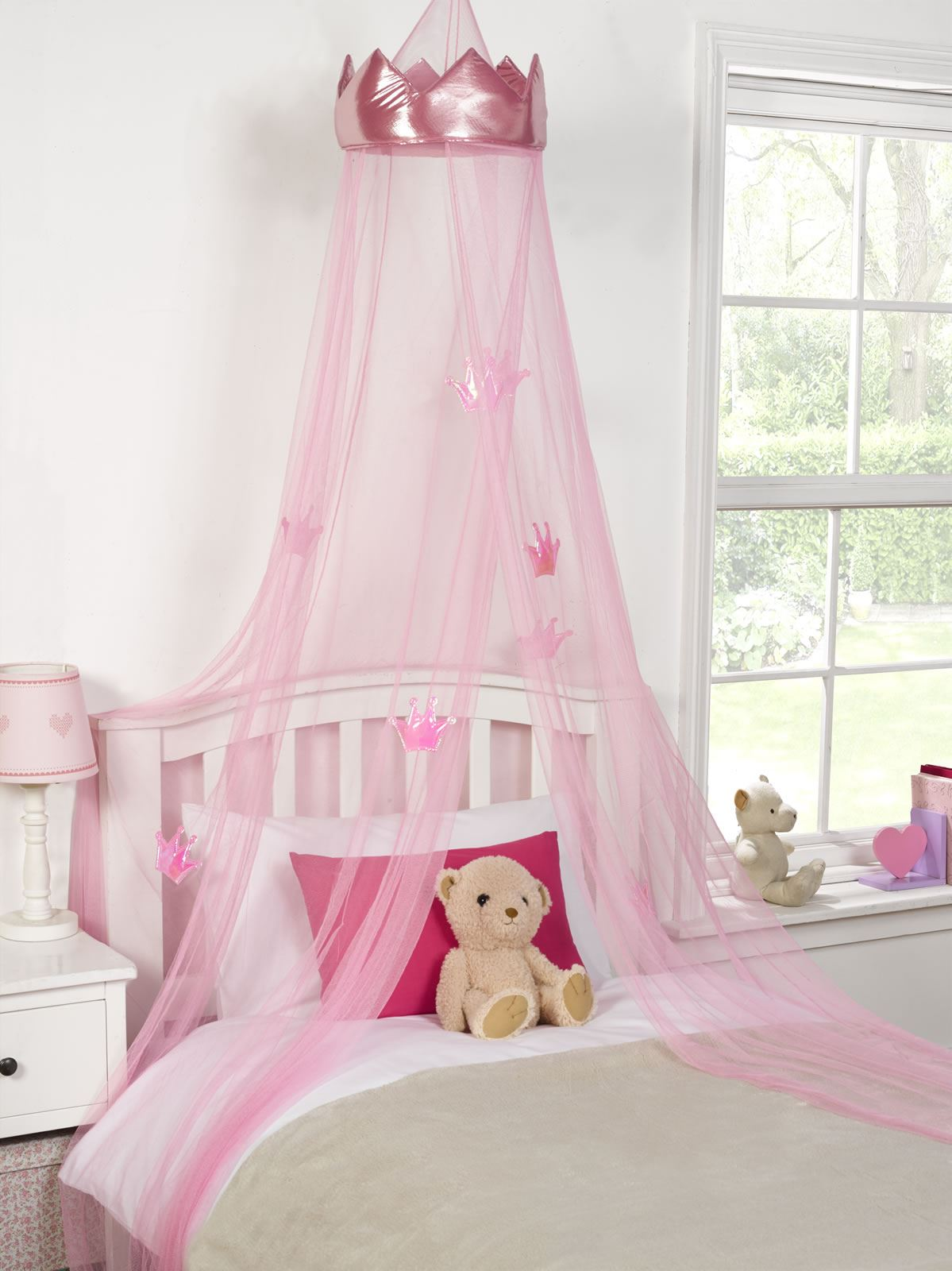 KIDS-CHILDRENS-GIRLS-PRINCESS-CROWN-BED-CANOPY-INSECT- & KIDS CHILDRENS GIRLS PRINCESS CROWN BED CANOPY INSECT MOSQUITO NET ...