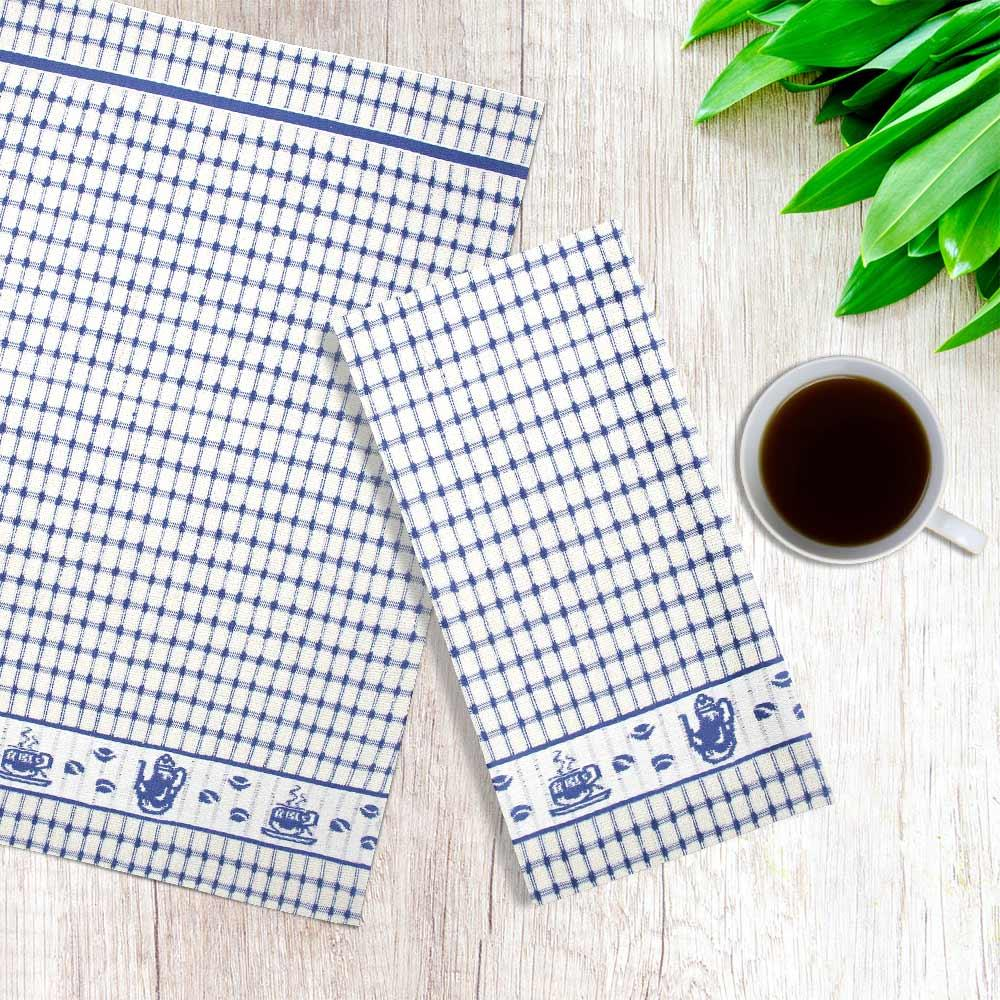 Packs-of-2-4-6-12-Tea-Towels-100-Cotton-Terry-Kitchen-Dish-Drying-Towel-Sets thumbnail 37