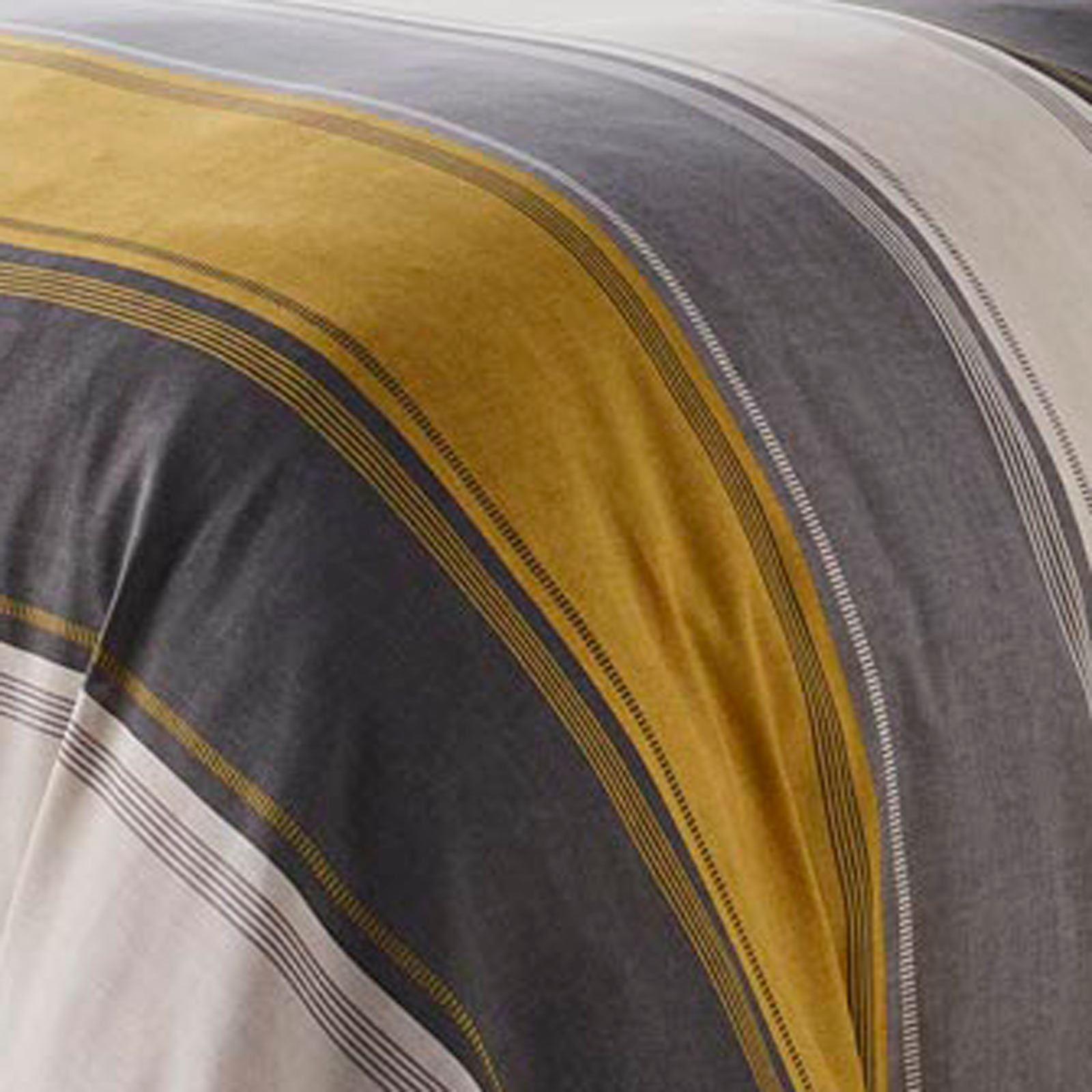 Mostaza-amarillo-ocre-Funda-de-edredon-impreso-Edredon-juego-ropa-de-cama-cubre-conjuntos miniatura 9