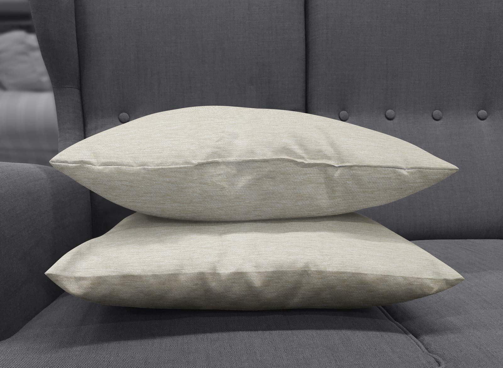 Set-of-2-Chenille-Cushion-Covers-Luxury-Plain-Cushions-Cover-Pairs-18-034-x-18-034 thumbnail 36